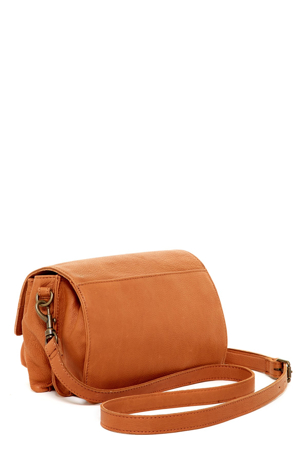 Lyst - Liebeskind Berlin Calista Vintage Leather Crossbody in Brown e66a4d5061