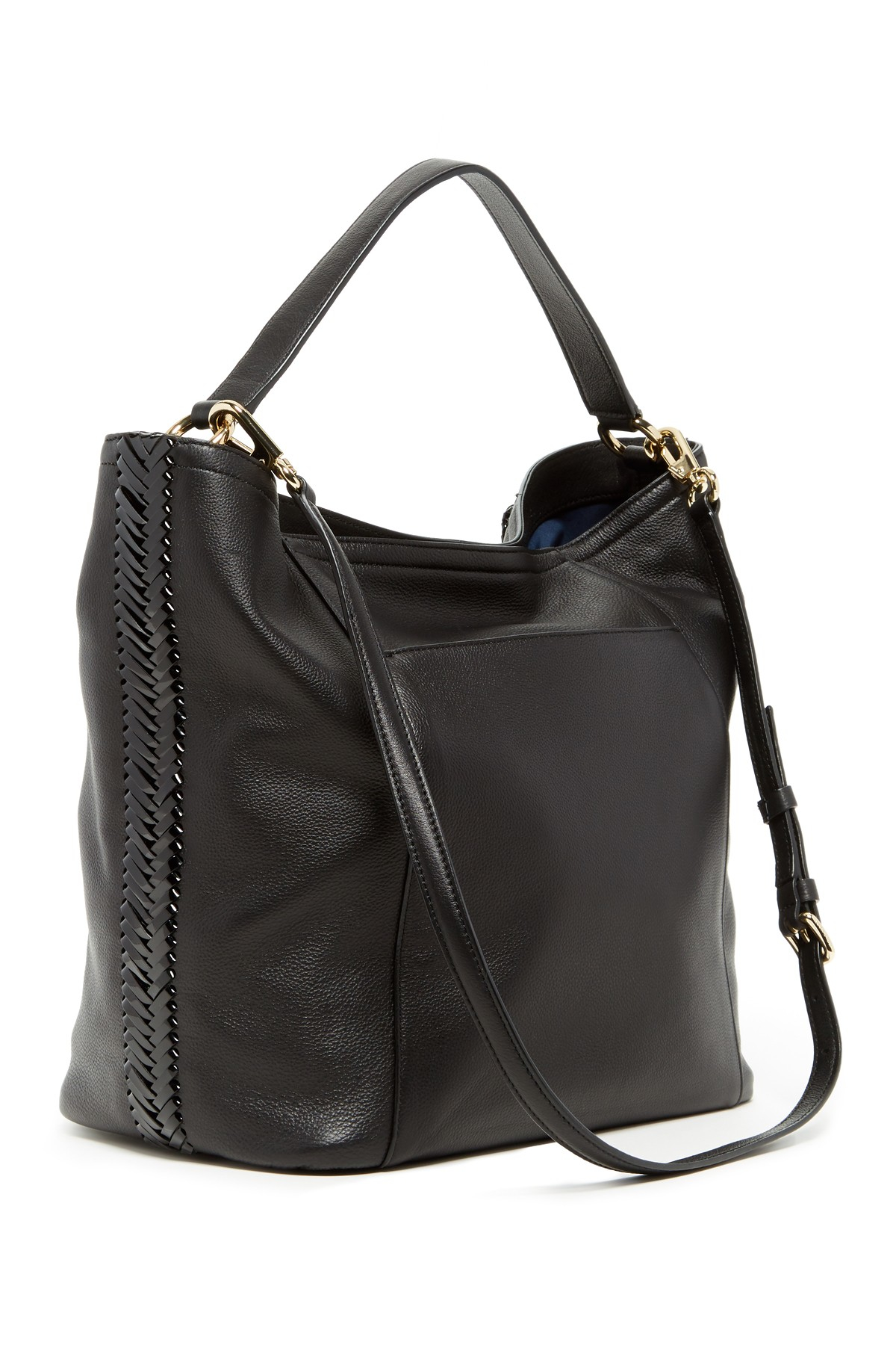 Cole Haan Nickson Ii Double Leather Strap Hobo Bag In