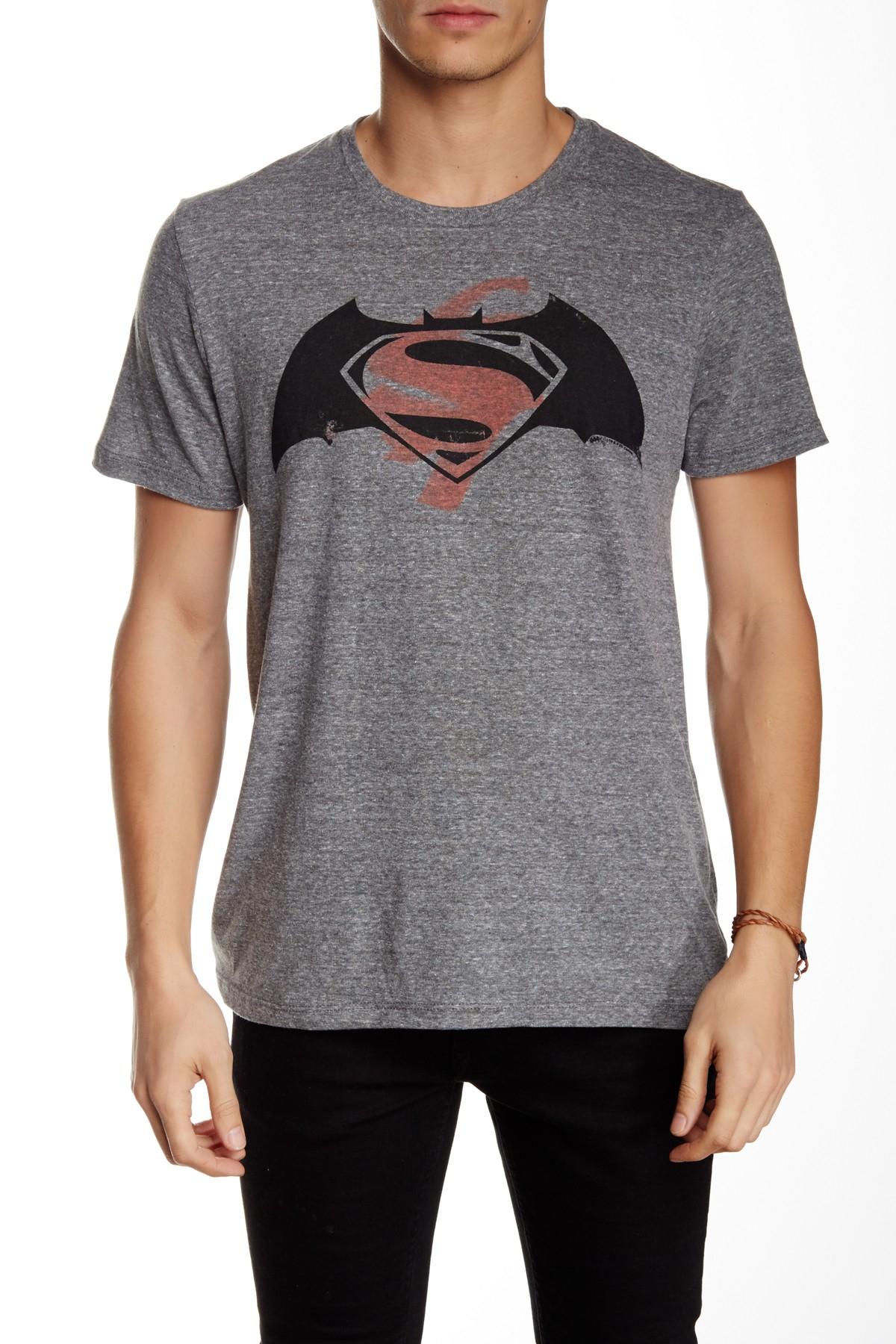 Junk Food Batman Vs Superman Tee