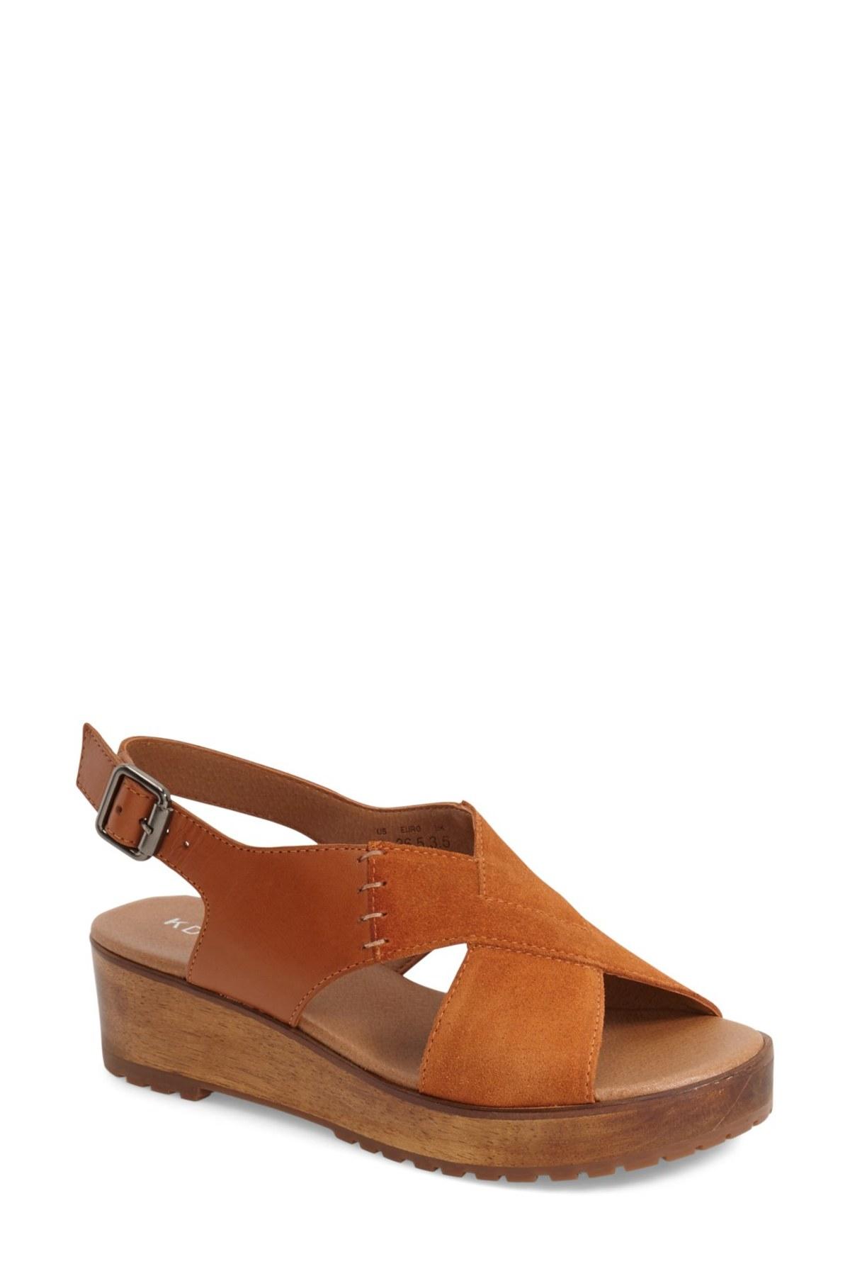 9ebab47e2672 Lyst - Kelsi Dagger Brooklyn  danielle Wood  Platform Sandal (women ...