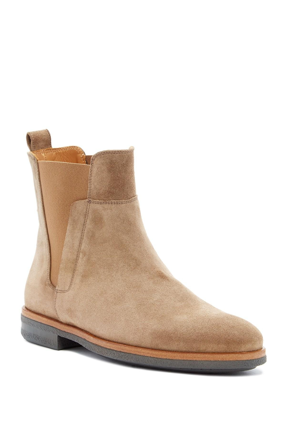 Vince Harvey Chelsea Boot In Brown For Men Lyst