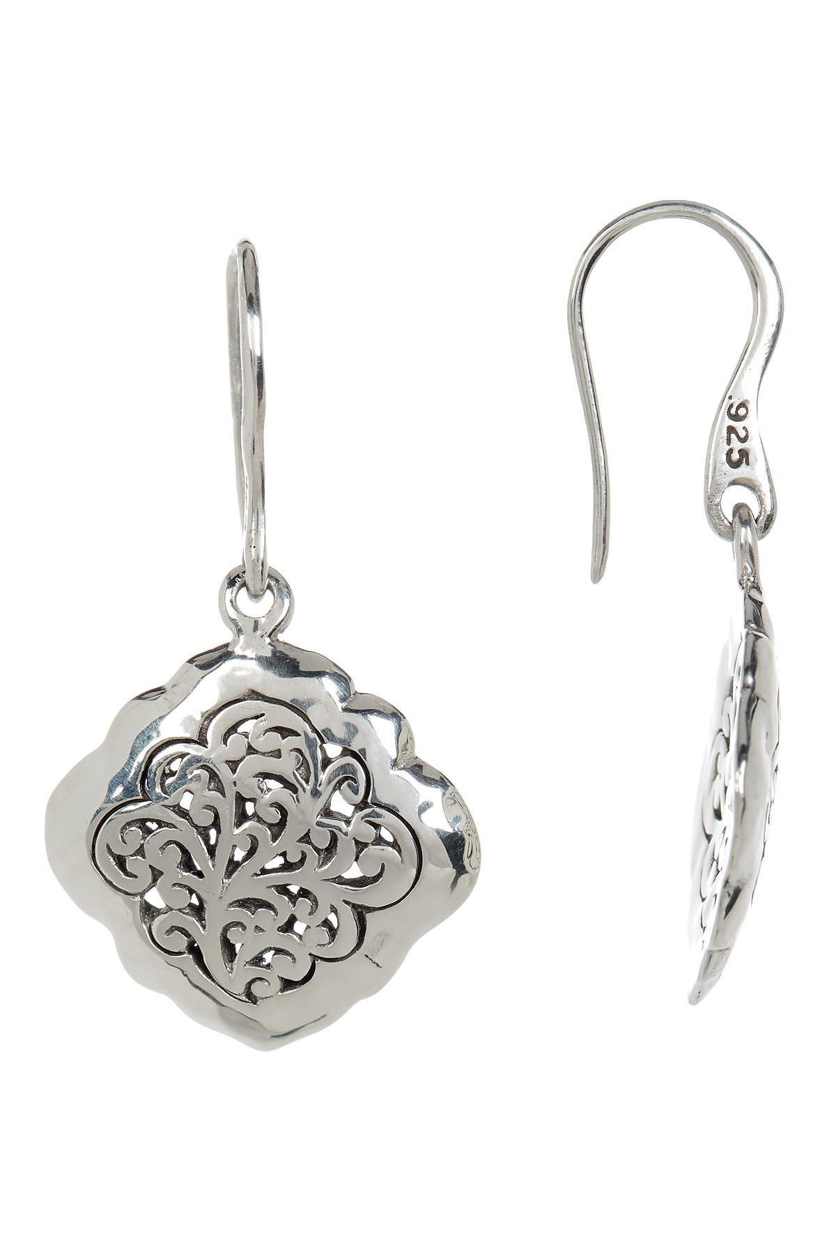 lois hill jewelry lyst lois hill sterling silver small handcrafted scroll 2954
