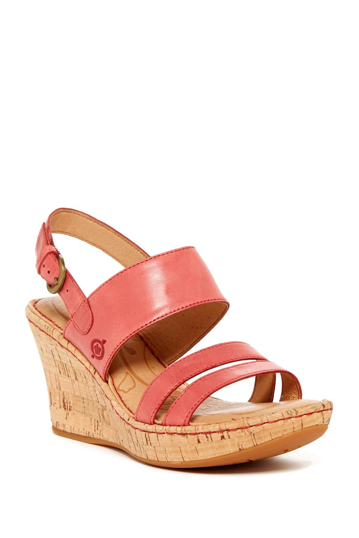born amabel wedge sandal in lyst