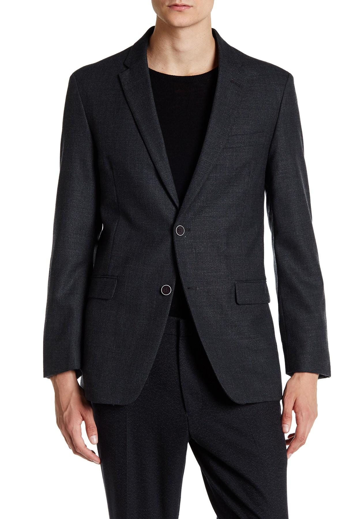 Tommy hilfiger Unconstructed Jacket in Gray for Men