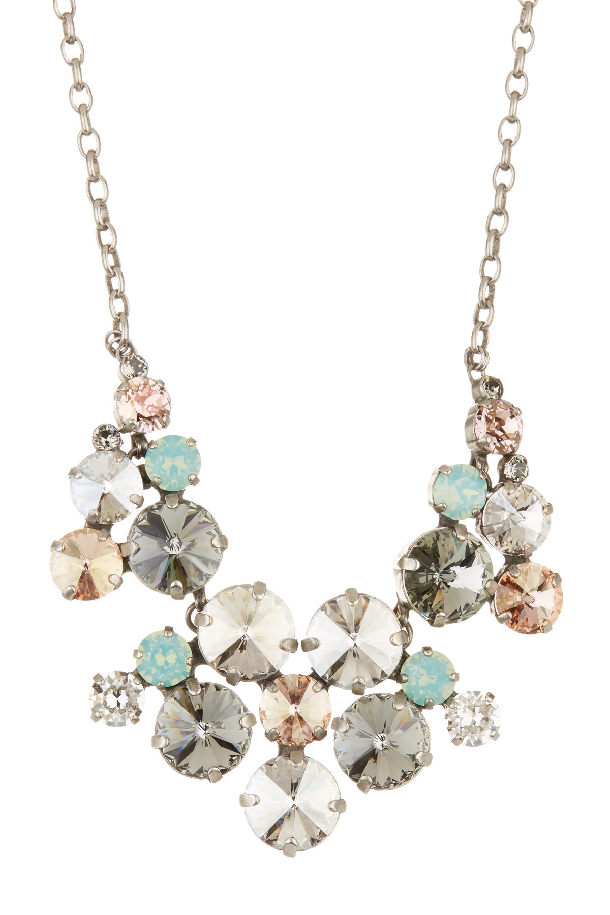 Sorrelli Crystal Drop Earrings & Necklace Set | Lyst