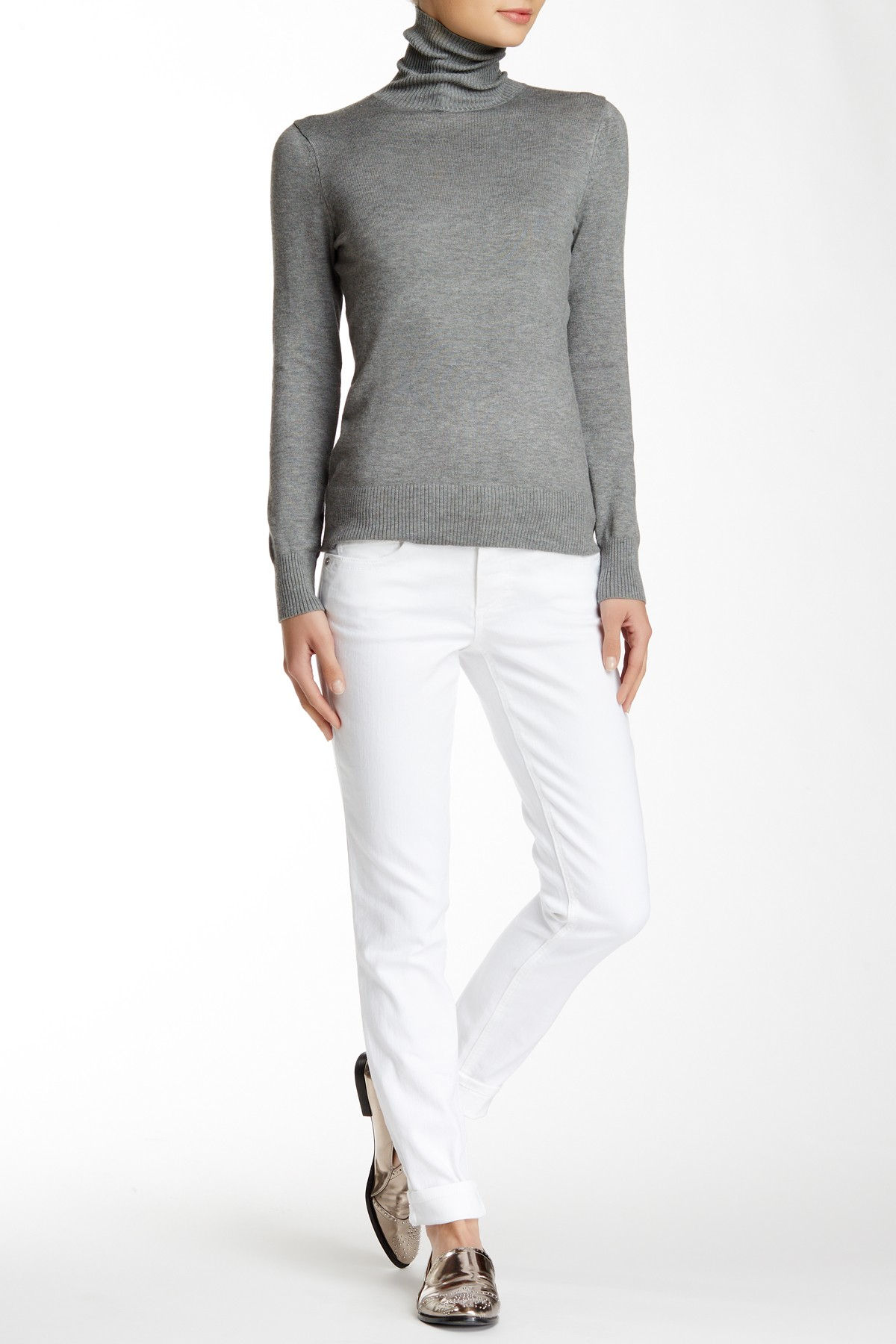 wit  u0026 wisdom skinny jean in white