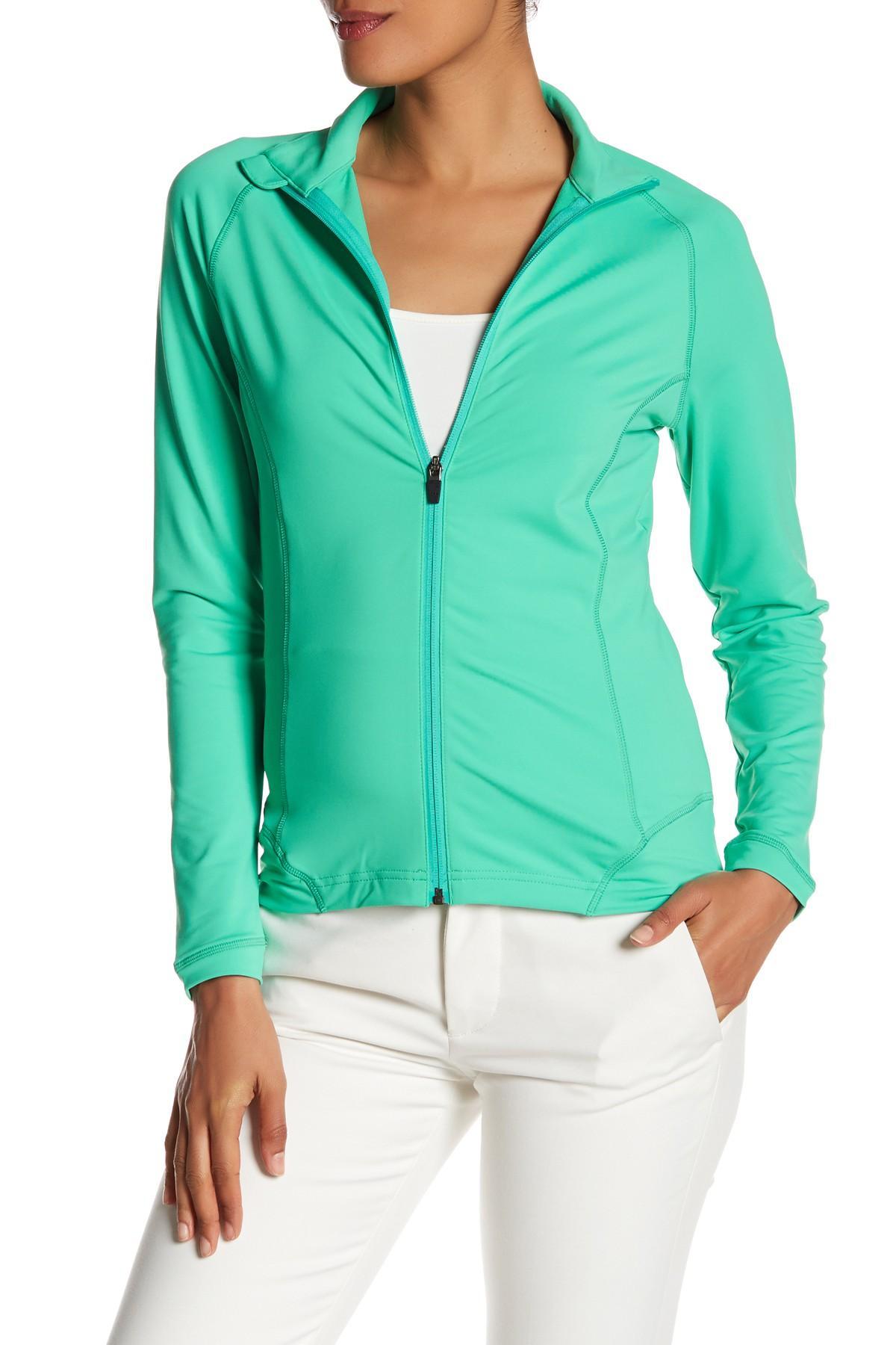 Lyst Peter Millar Tamara Full Zip Solid Layer Jacket In