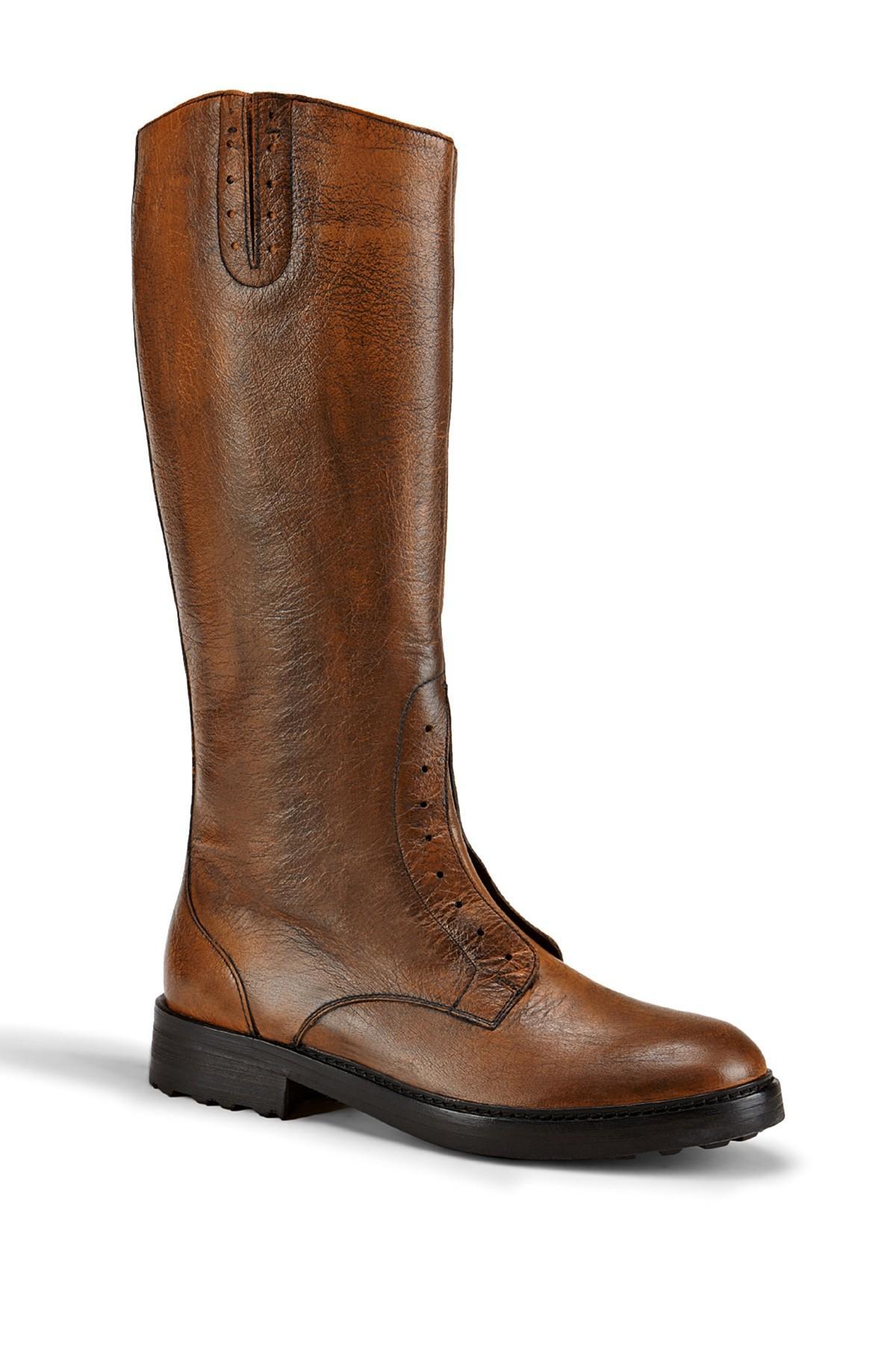 Lyst Liebeskind Berlin Buffalo Knee High Boot In Brown