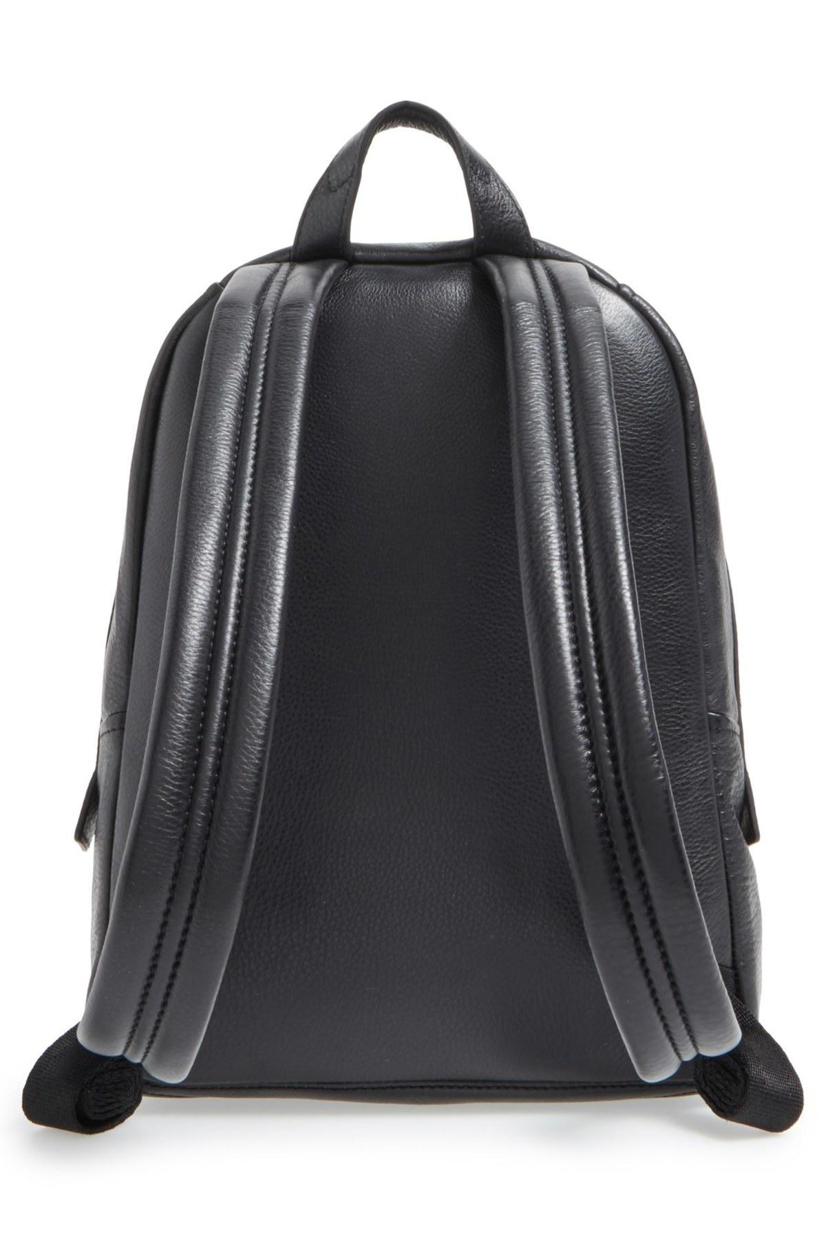 Lyst Marc Jacobs Leather Biker Backpack In Black
