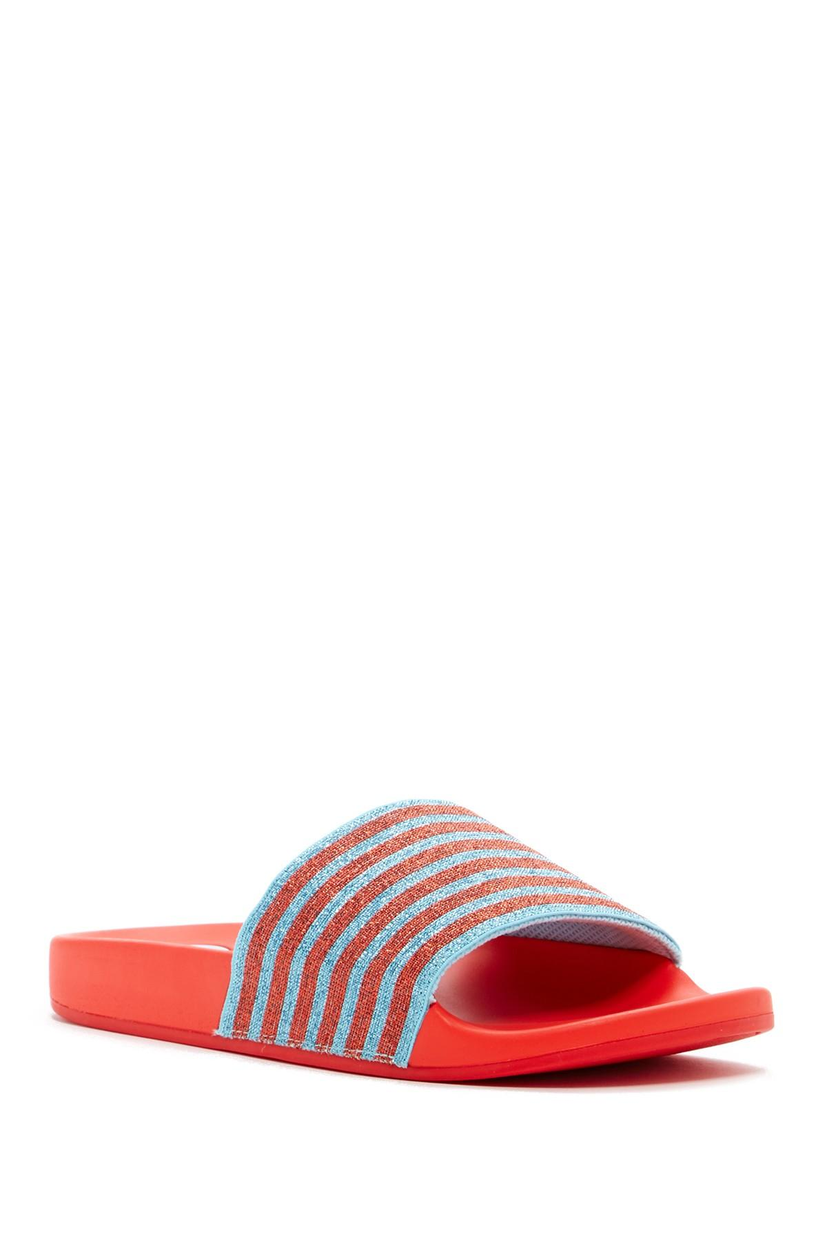 Lyst Marc Jacobs Cooper Sport Slide Sandal In Red