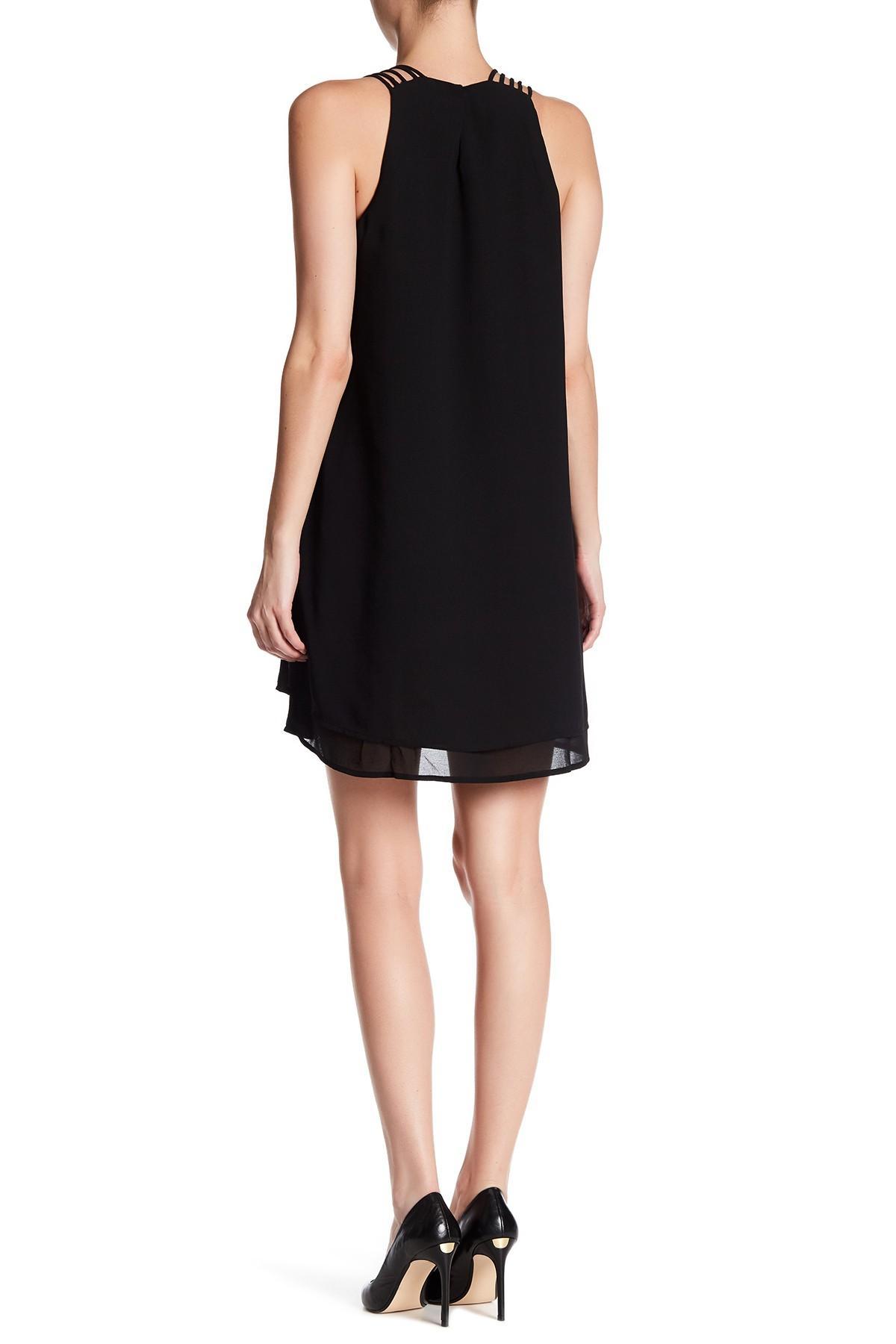 Loft Black Swing Dress