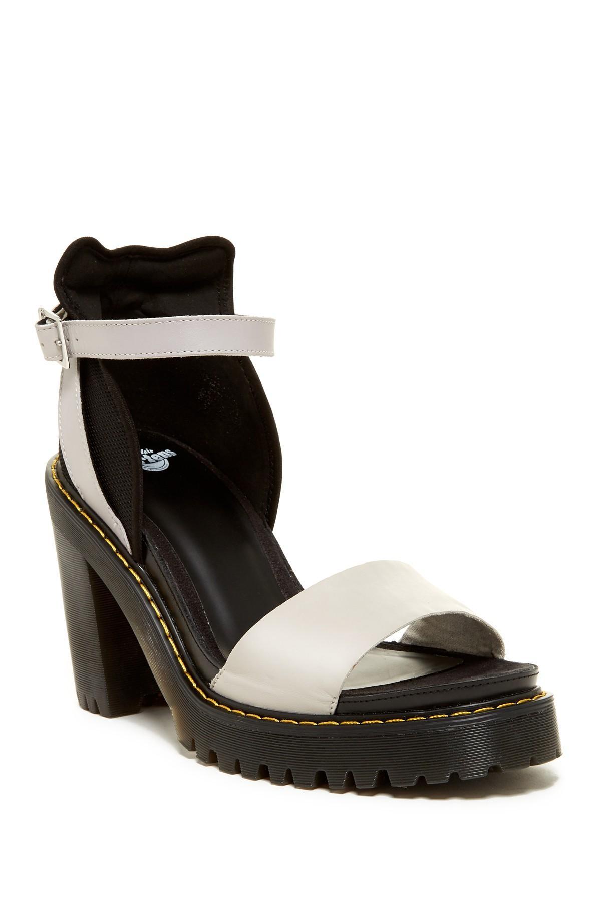 Lyst Dr Martens Medea Platform Sandal In Black