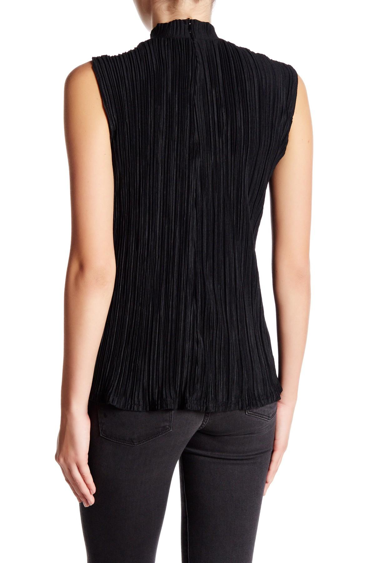 Lyst Romeo And Juliet Couture Sleeveless Turtleneck