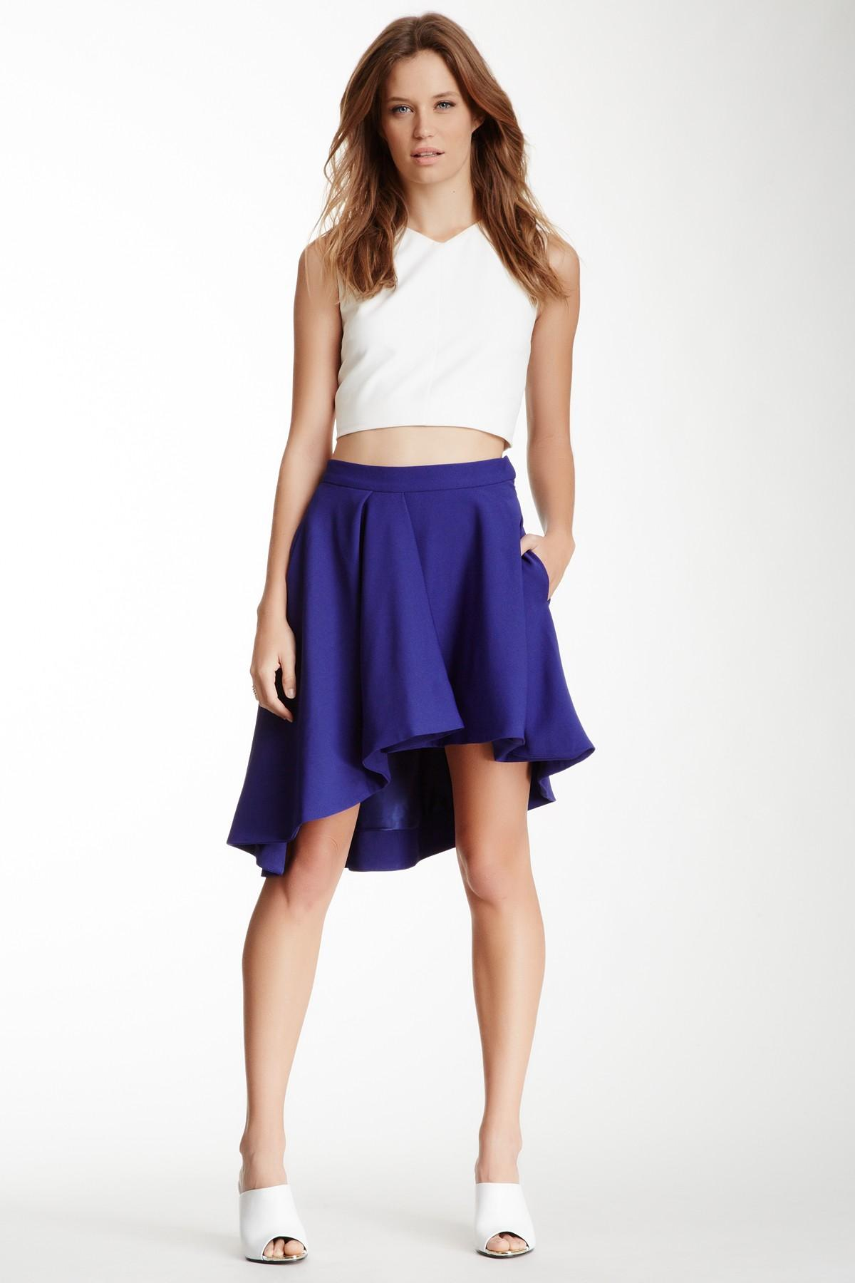 Browse the superb asymmetrical skirts edit at Farfetch. Find ruffled skirts, wrap skirts & more from this luxury asymmetric skirts range.