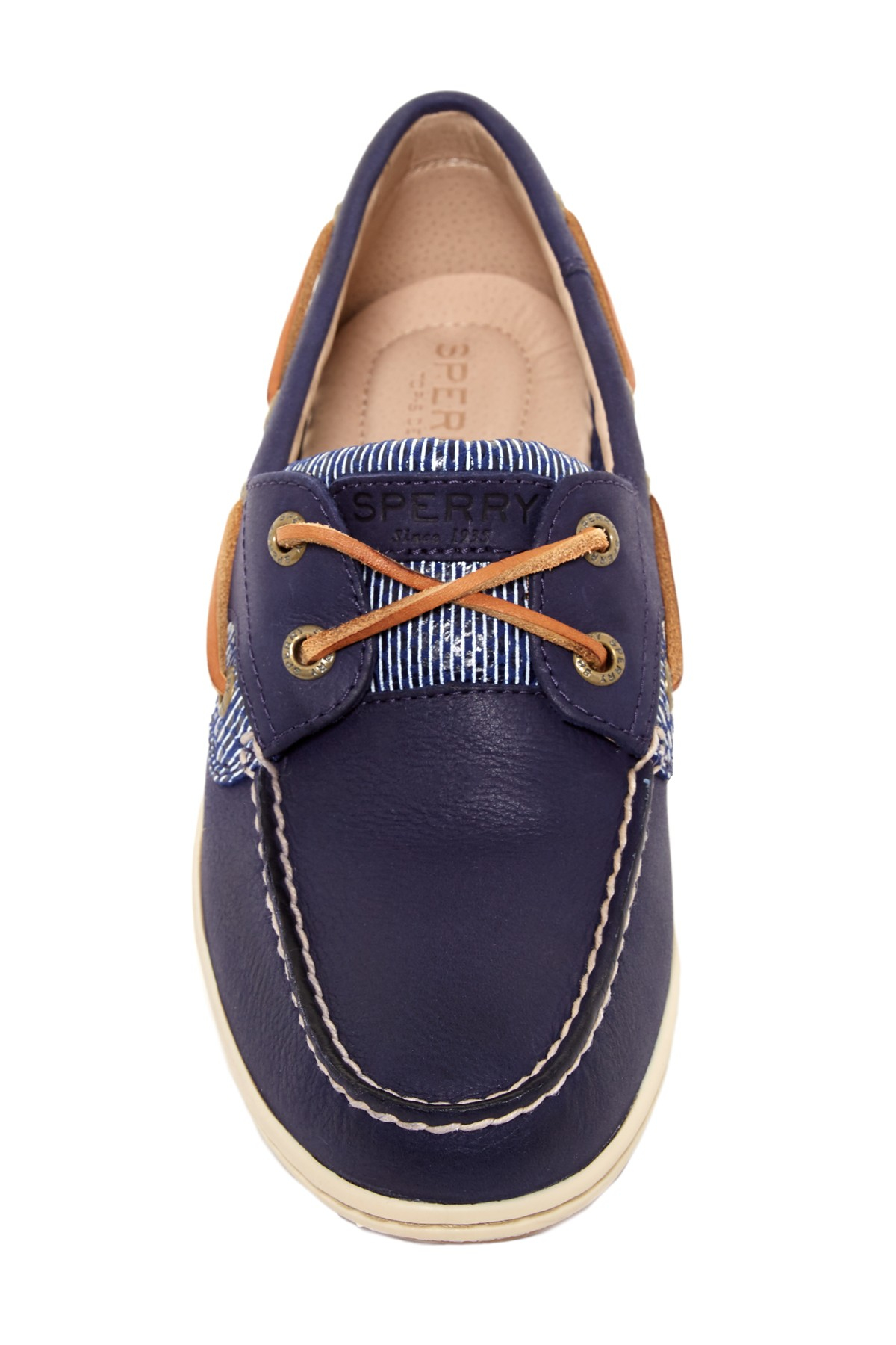 Lyst sperry top sider koifish core boat shoe in blue for men for Best boat shoes for fishing