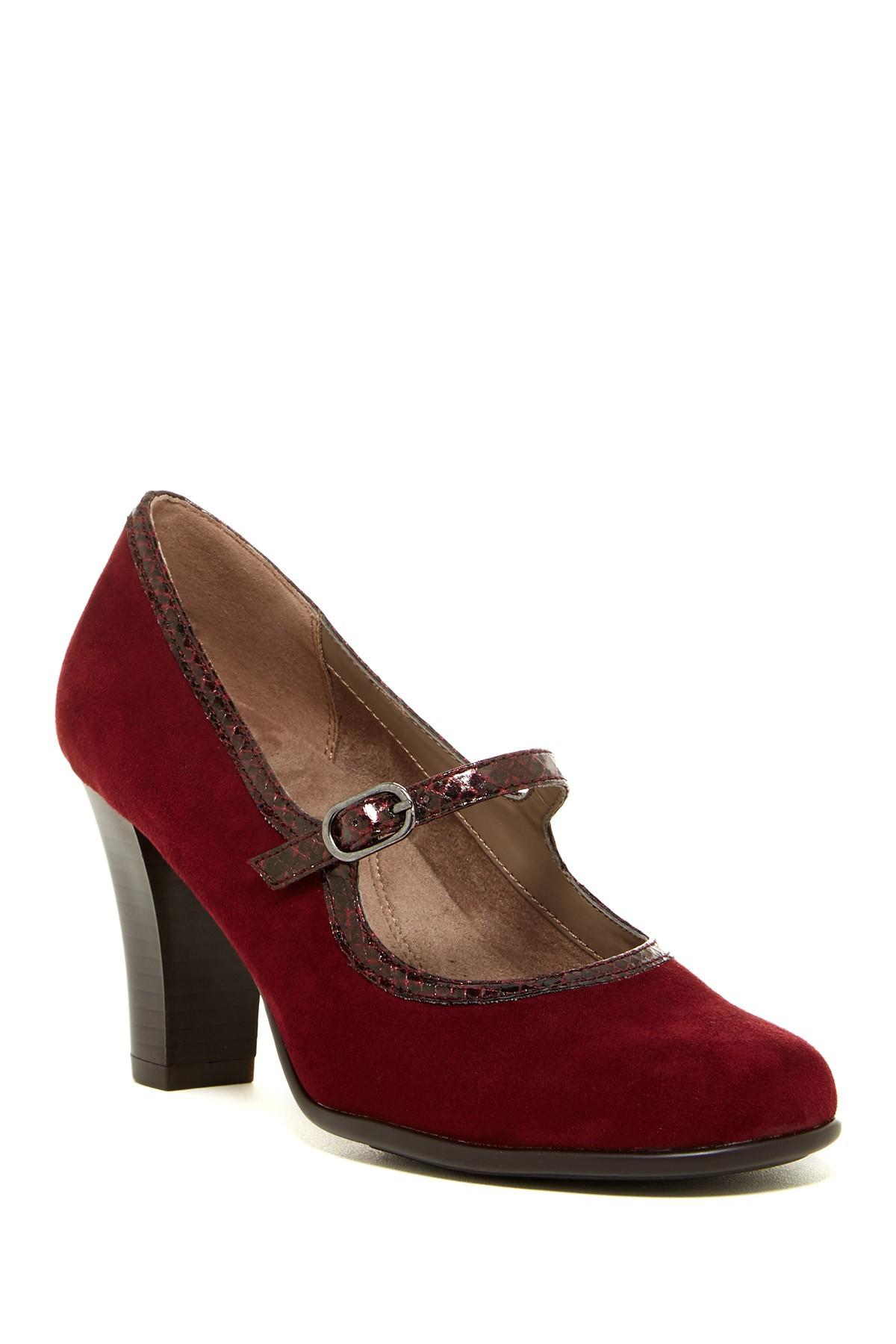 Aerosoles Red Mary Jane Shoes