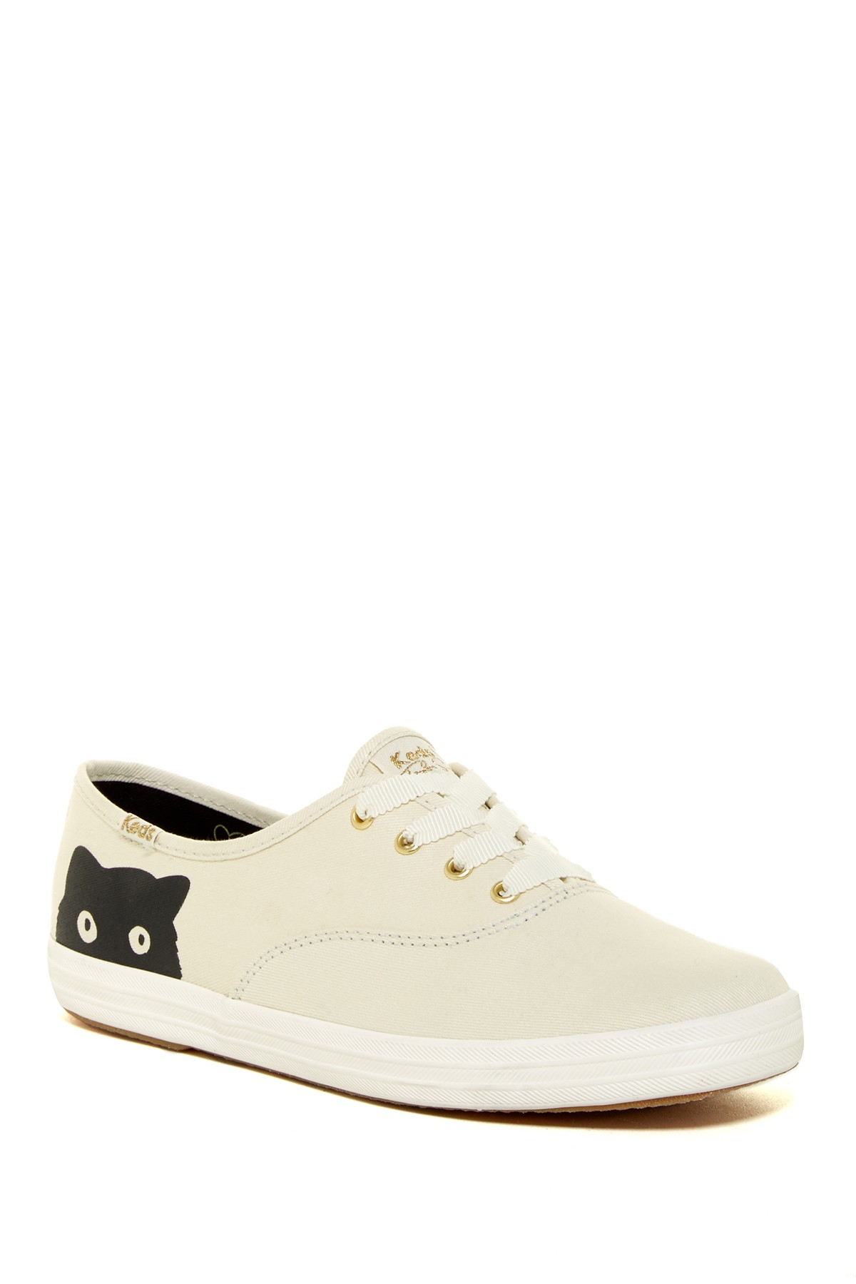 c0f348fd384 ExtraTV.com  Lyst - Keds Taylor Swift Champion Sneaky Cat Sneaker in  Natural ...