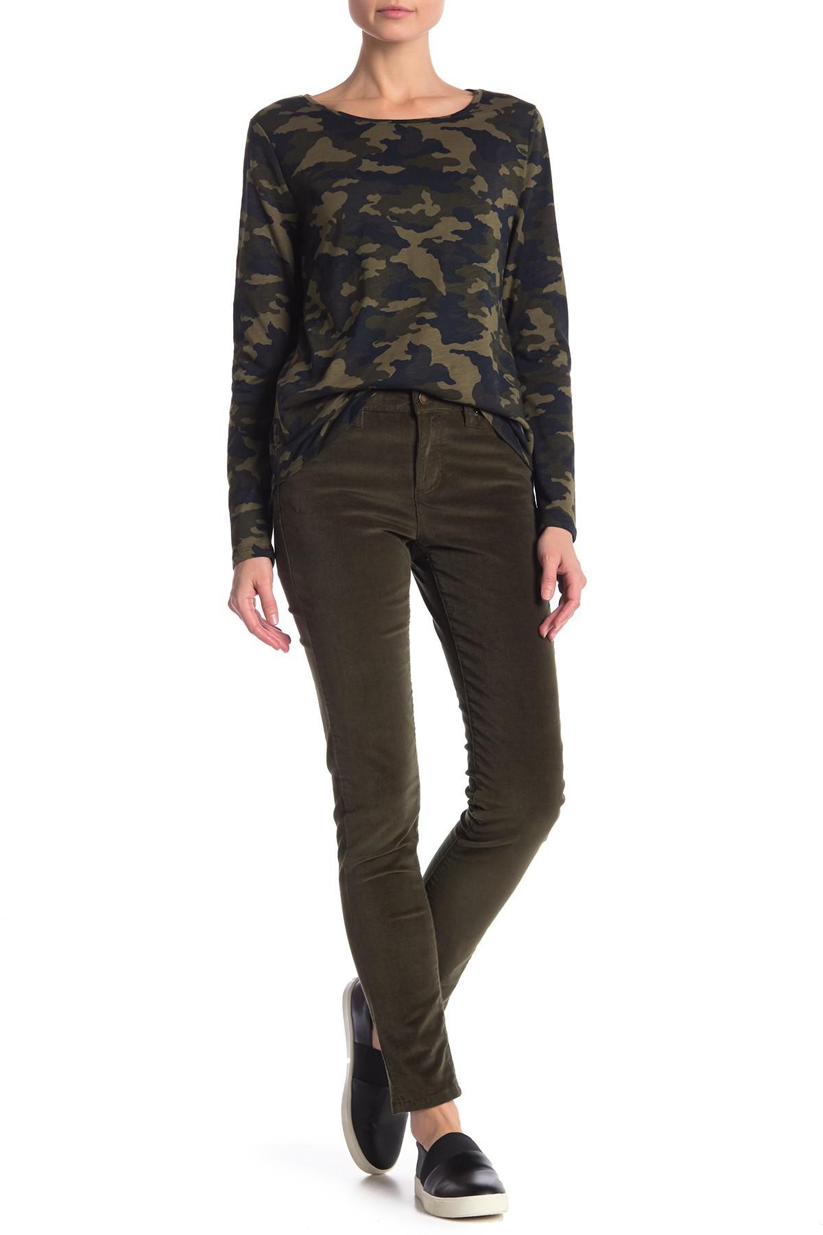 e9dc6f72e569c Lyst - Joe Fresh Slim Fit Corduroy Jeans in Green
