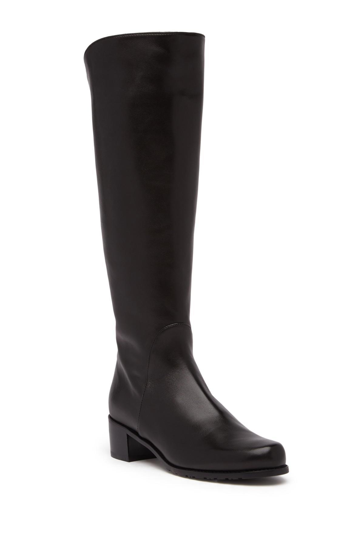 581209398fd Lyst - Stuart Weitzman Arlington Boot in Black