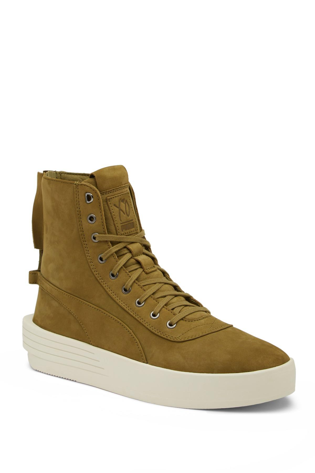 Lyst - Puma Puma X Xo By The Weeknd Parallel Sneaker Boot in Green e7714f5ac