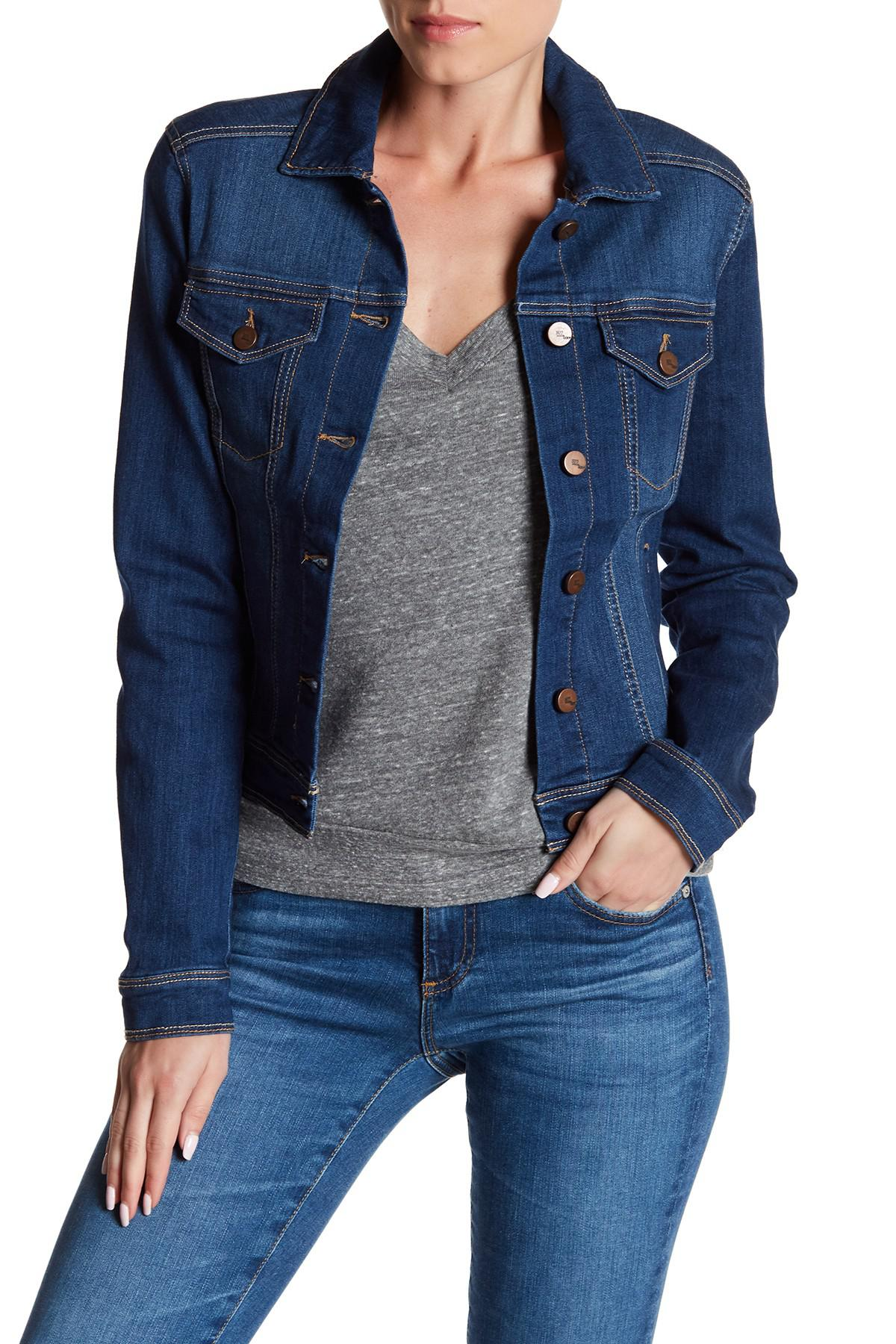 06b7ee933753d 1822 Denim Medium Wash Denim Jacket in Blue - Lyst