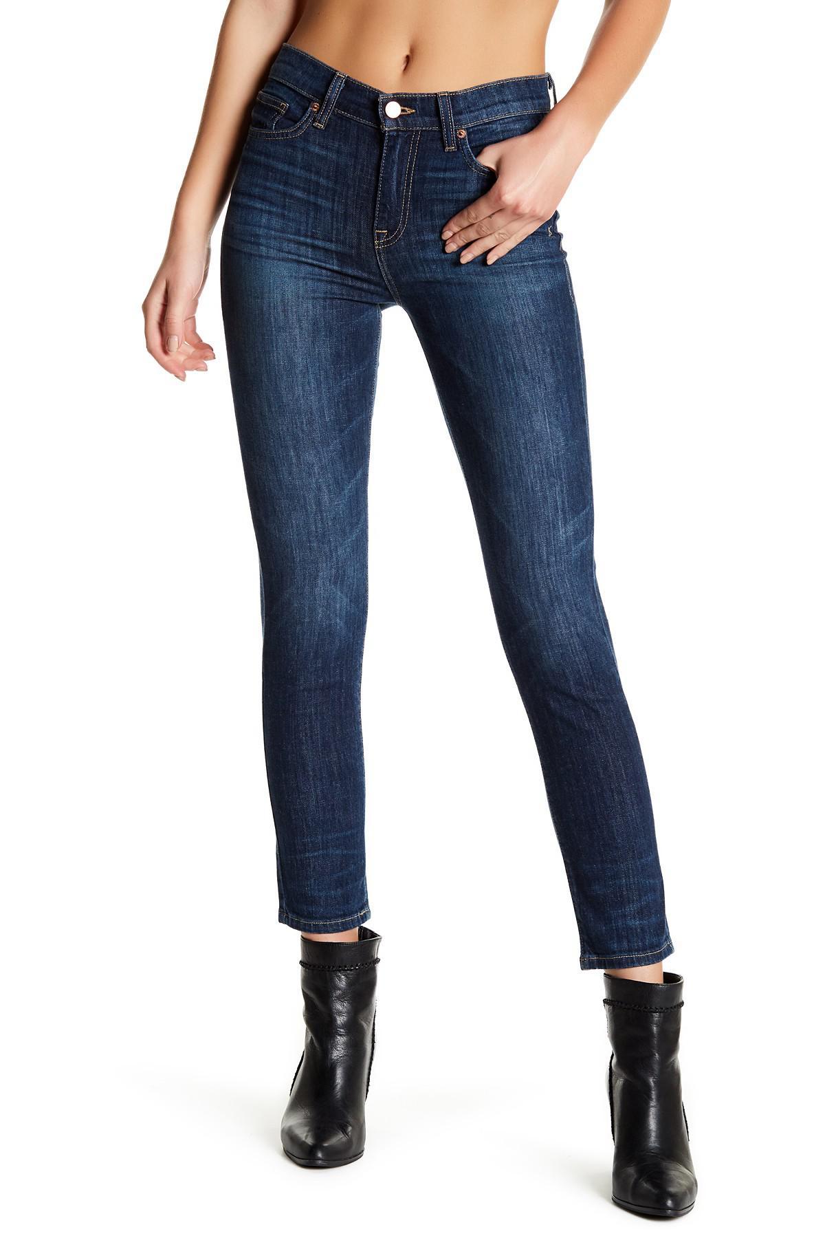 7da26075 Lyst - Genetic Denim Birkin High Waist Jean in Blue