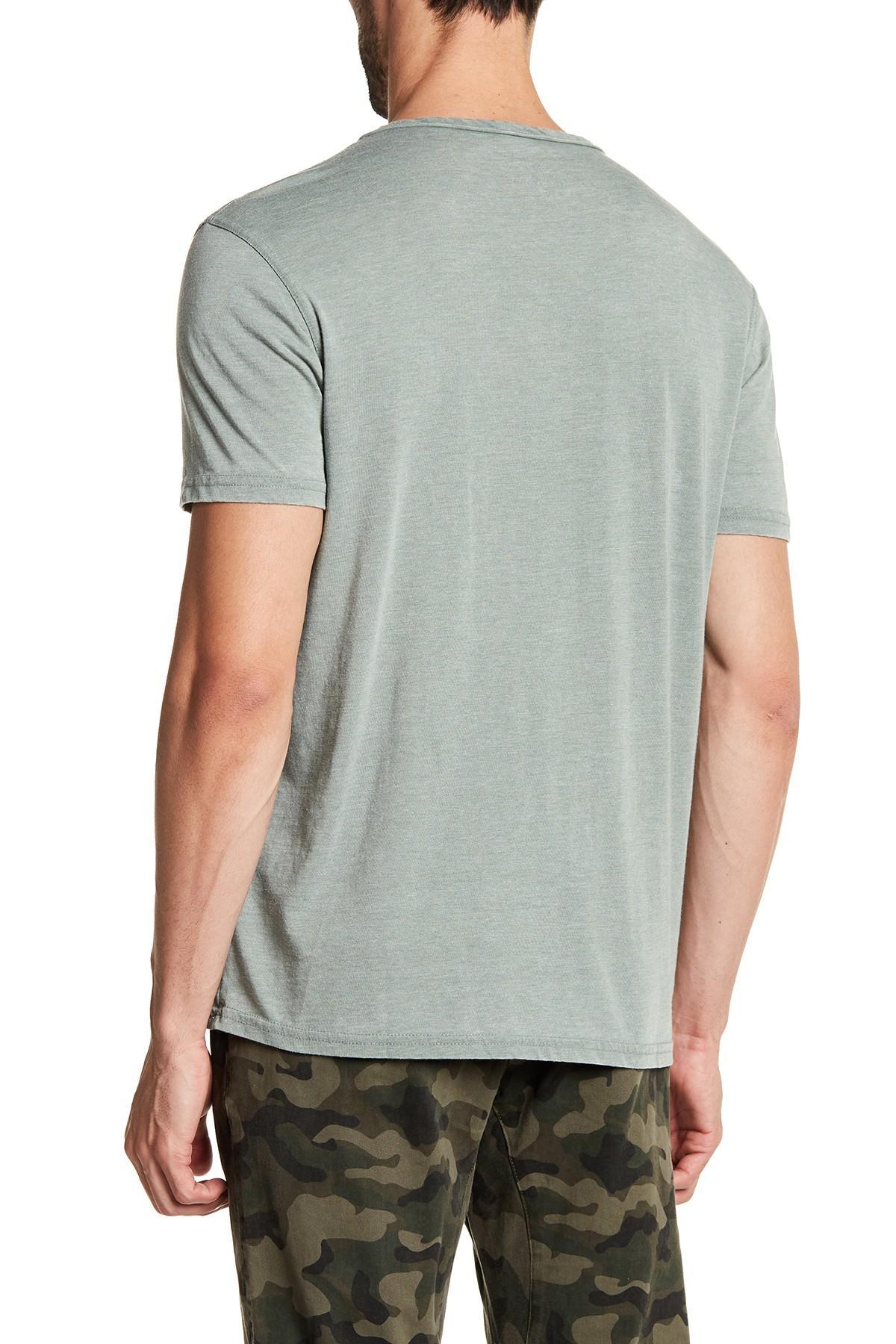 ed7d13542 Lucky Brand - Multicolor Vintage Short Sleeve Henley for Men - Lyst. View  fullscreen