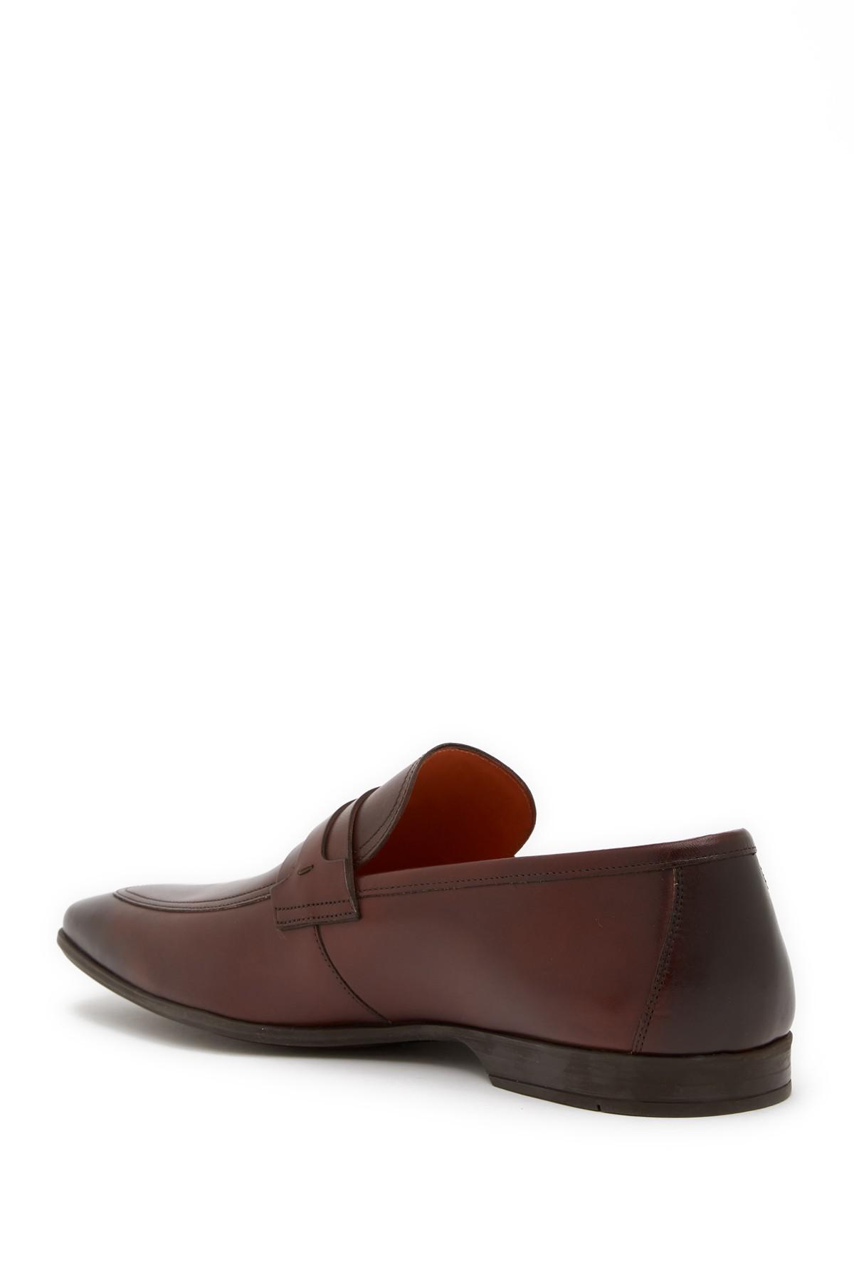 3e4ee417e39 Lyst - Magnanni Meingo Bit Leather Loafer in Brown for Men