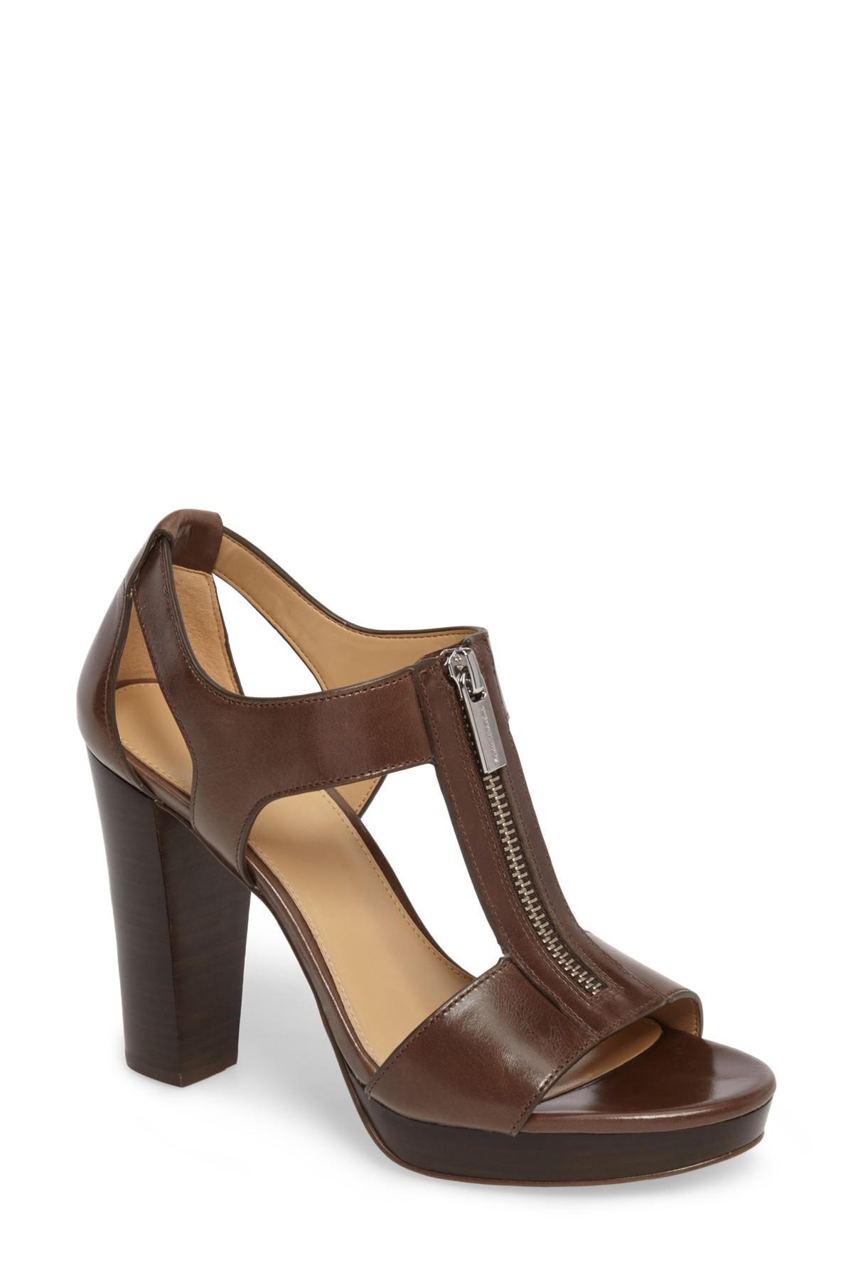 24dee627d7578 Lyst - MICHAEL Michael Kors Berkley Sandal in Brown