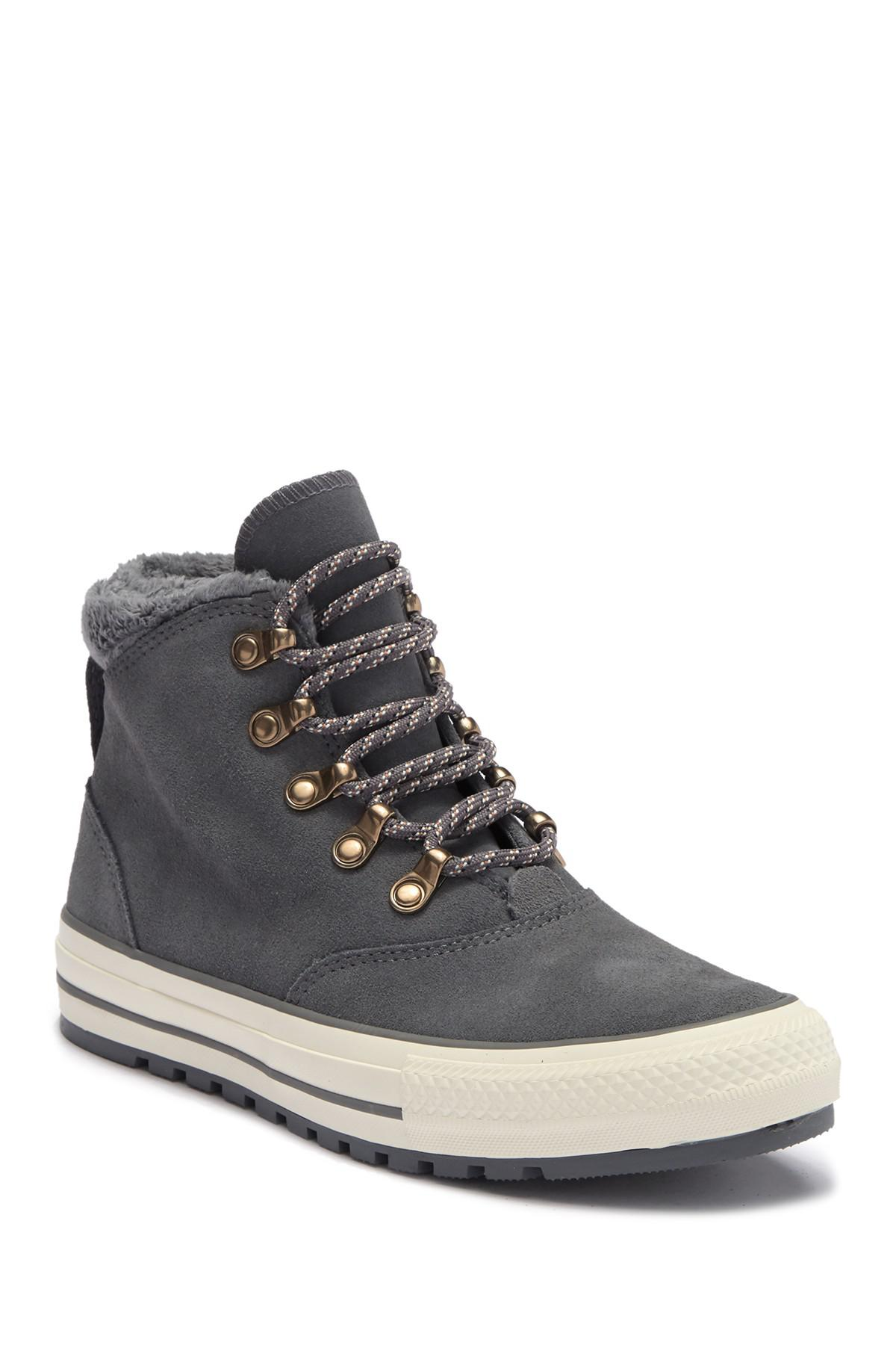 c84399c5e84 Converse Chuck Taylor All Star Ember Faux Fur Lined Boot (women) - Lyst