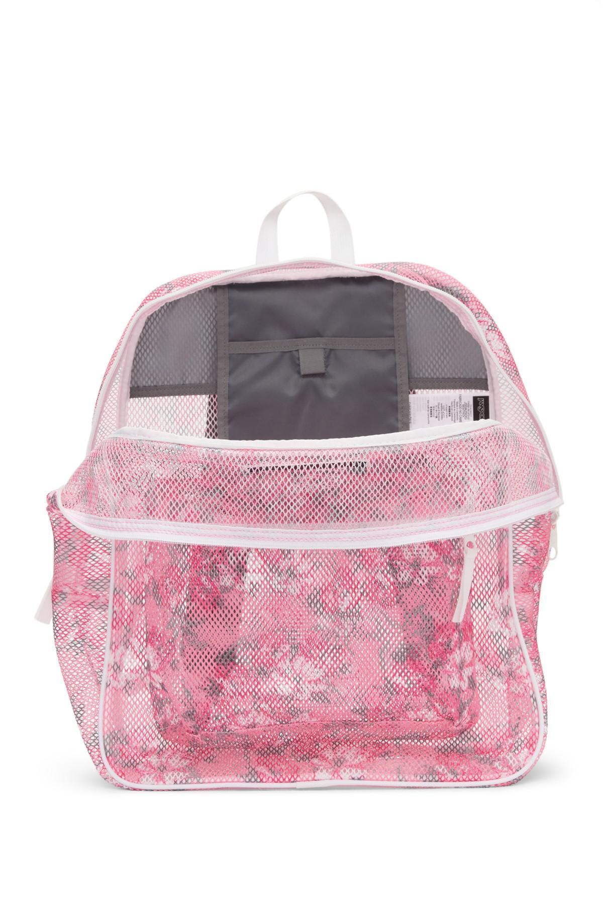 Pink Mesh Backpack- Fenix Toulouse Handball adb8cef0e8296