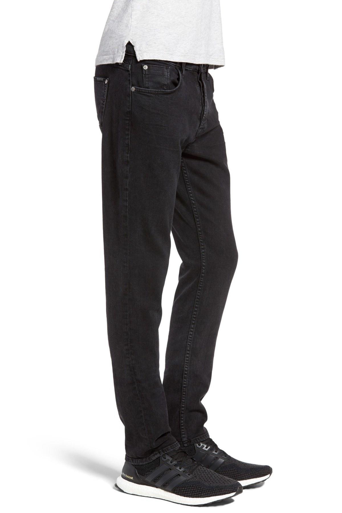 79fdaf0ad8b Hudson Jeans Sartor Slouchy Skinny Jean in Black for Men - Lyst