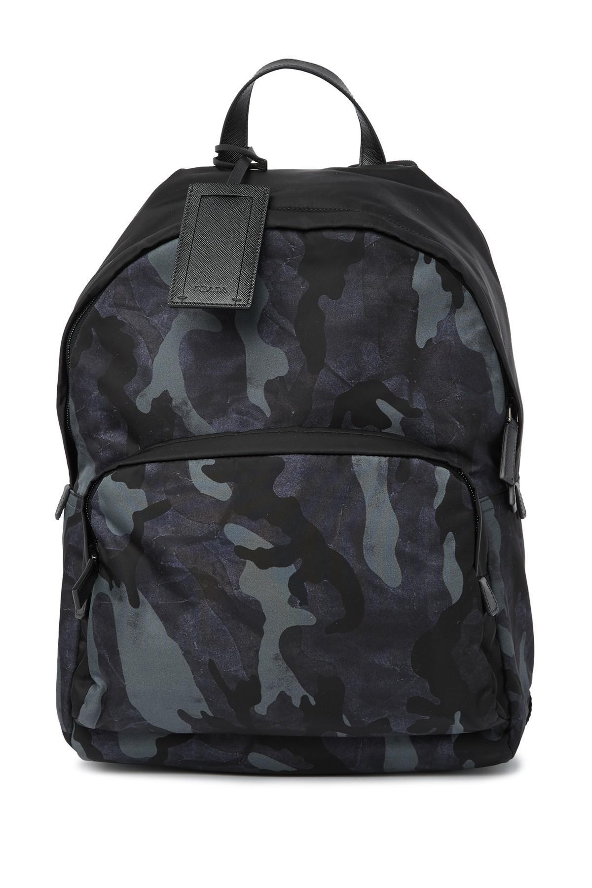 fbb0d145d14f Lyst - Prada Backpack in Black for Men
