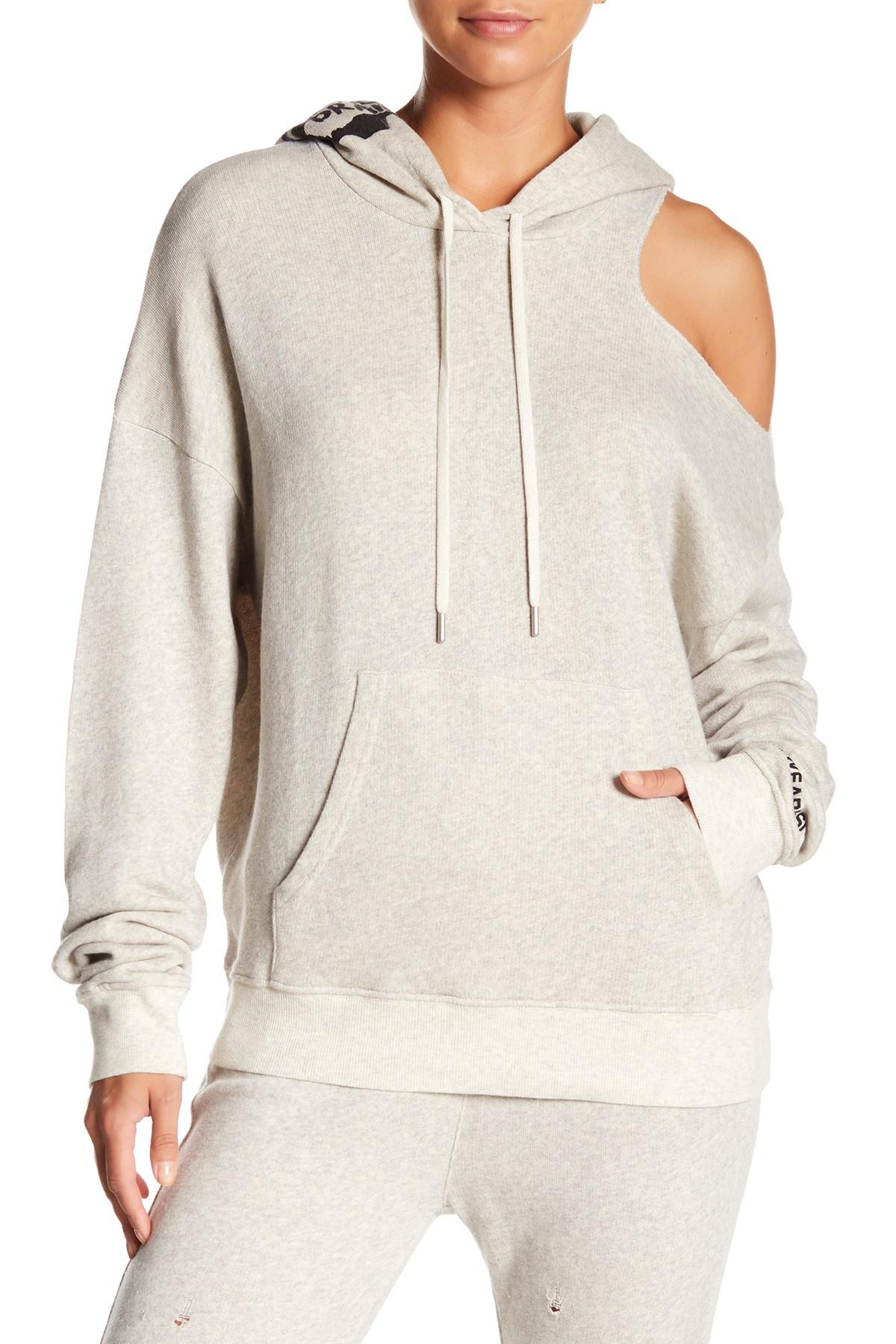 5131dabc985626 Siwy. Women s Gray Mavis Shoulder Cutout Hoodie.  165  80 From Nordstrom  Rack. Free shipping ...