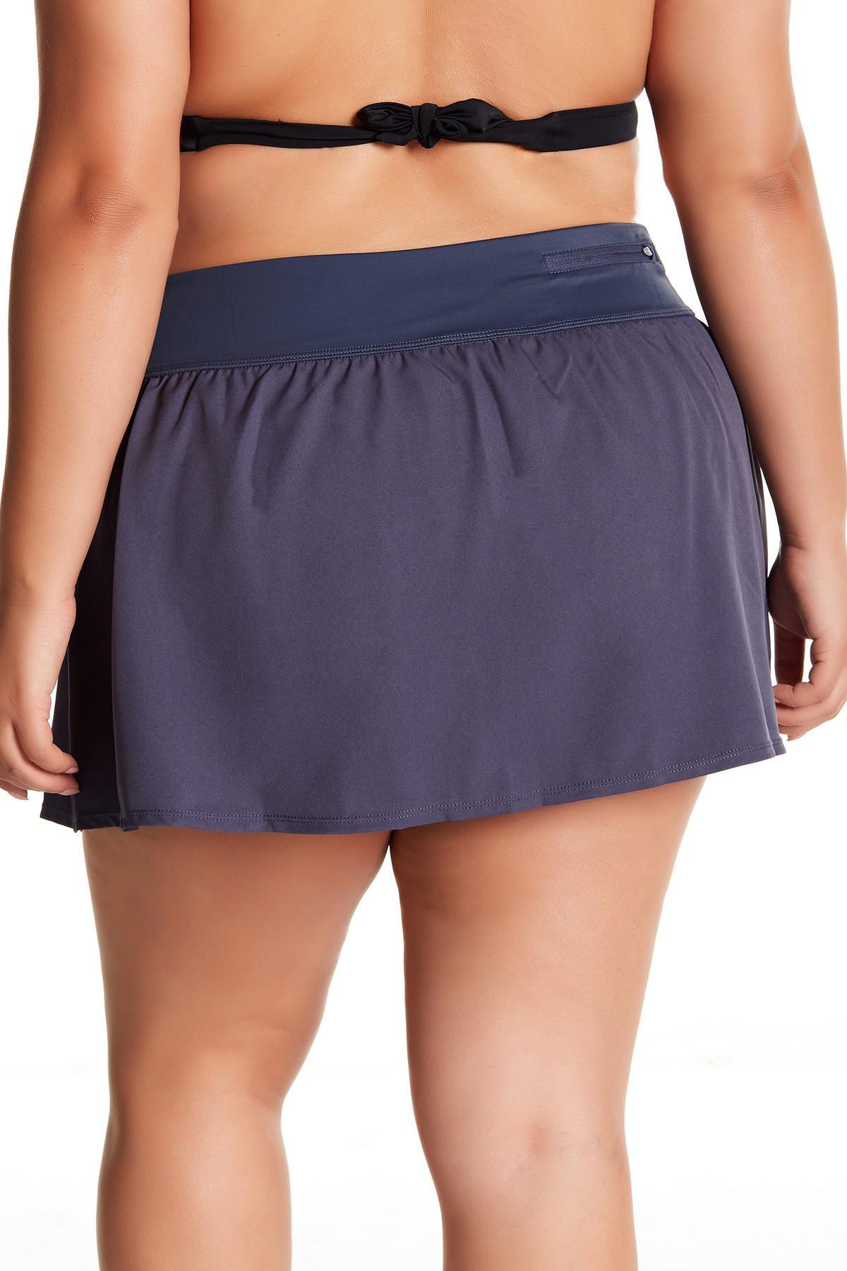 4fd143ab76e Nike - Blue Solid Swim Boardskirt (plus Size) - Lyst. View fullscreen