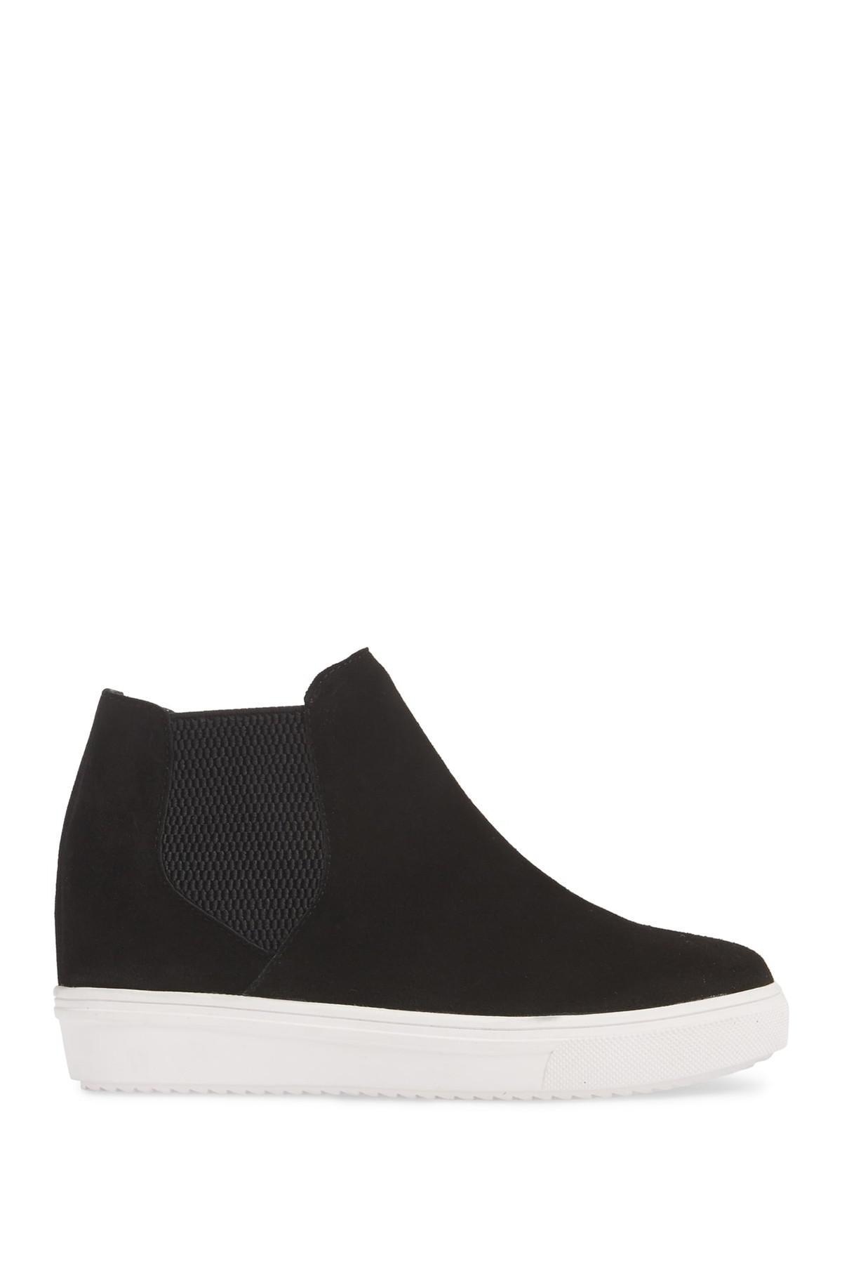 3d3cd138b23 Lyst - Steve Madden Sultan Chelsea Wedge Sneaker (women) in Black