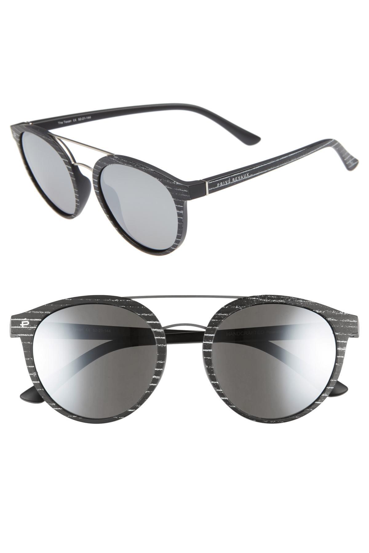 e547eaa6e45f Lyst - Privé Revaux The Texan 52mm Sunglasses in Black