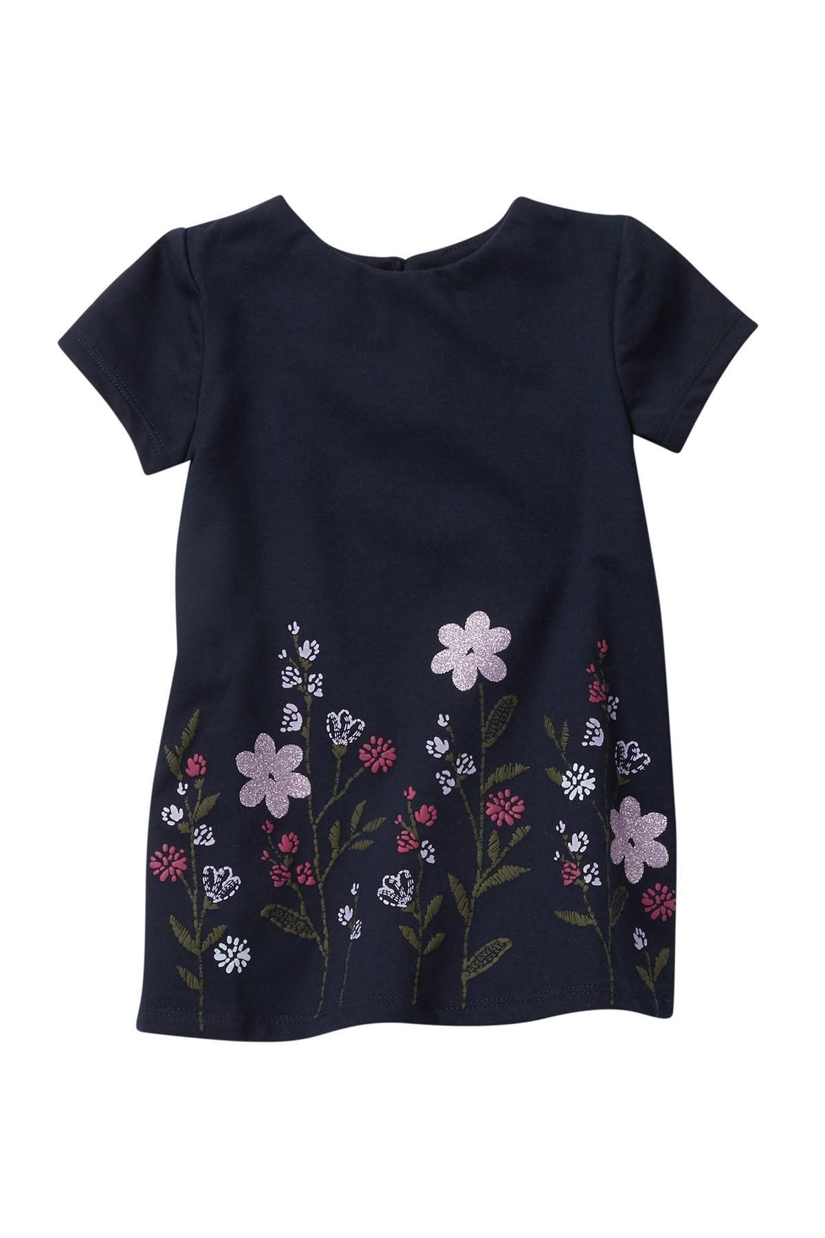 Lyst - Joe Fresh Flower Dress (baby Girls) in Blue b4af0f1ec