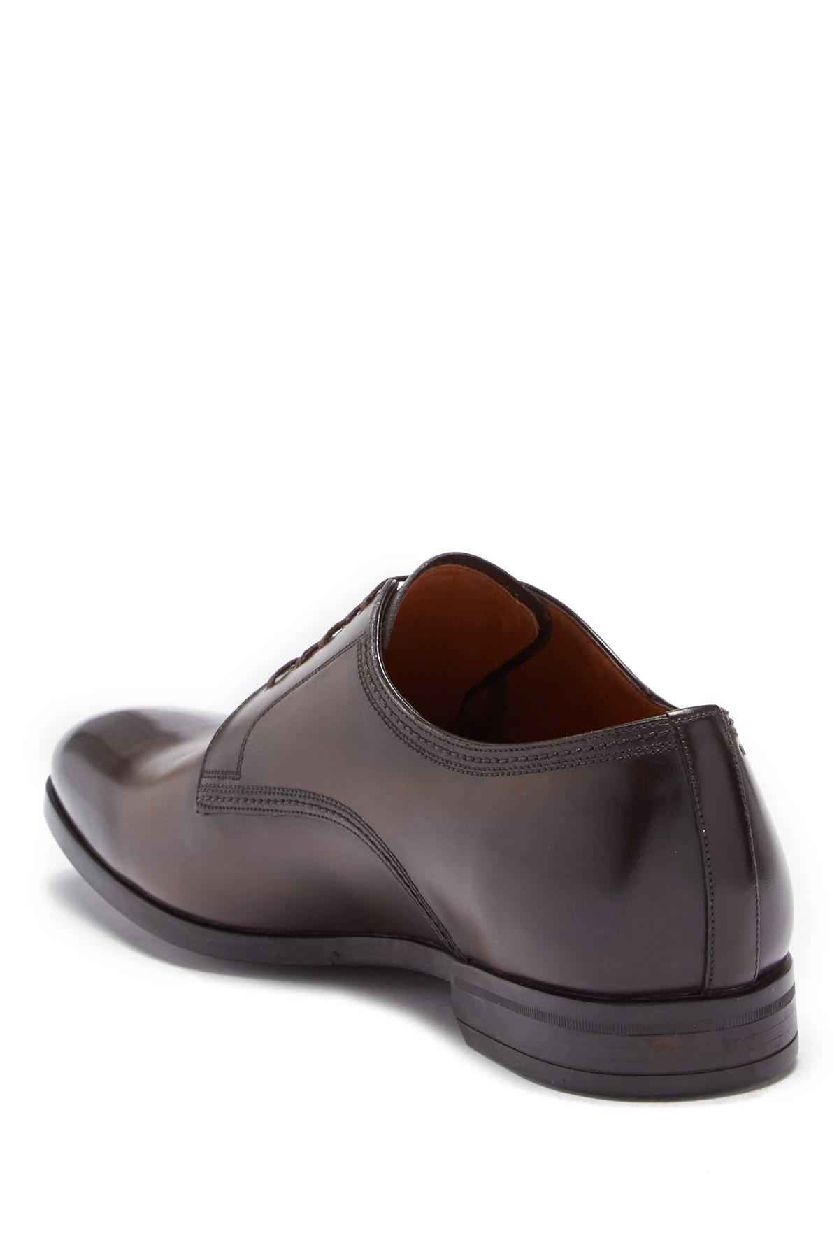 c66cbe3533e Lyst - Bally Latour Leather Derby in Brown for Men