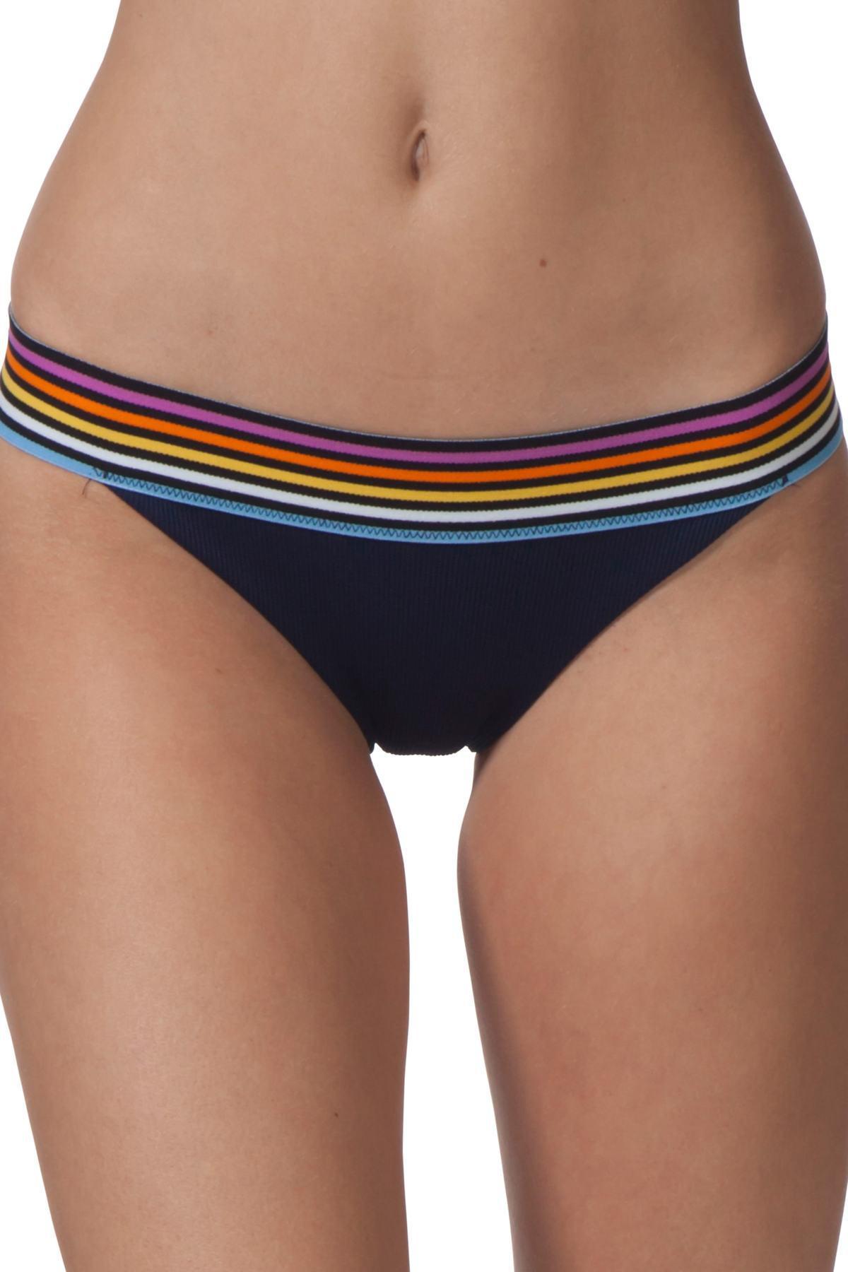 fd0fd08e37edd Lyst - Rip Curl Surforama Hipster Bikini Bottoms in Blue