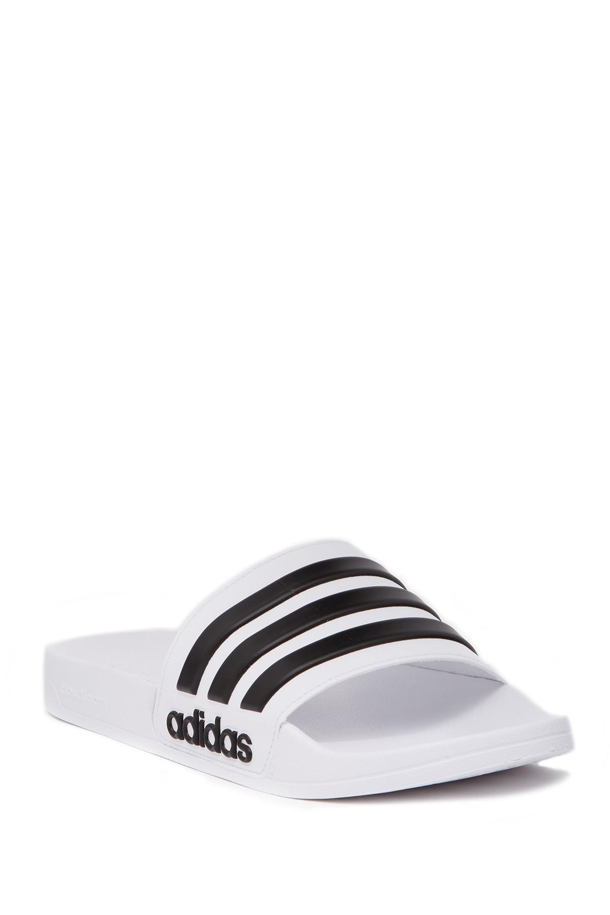 c5b6a9dd3dcb77 Adidas - Multicolor Adidette Shower Slide Sandal for Men - Lyst. View  fullscreen