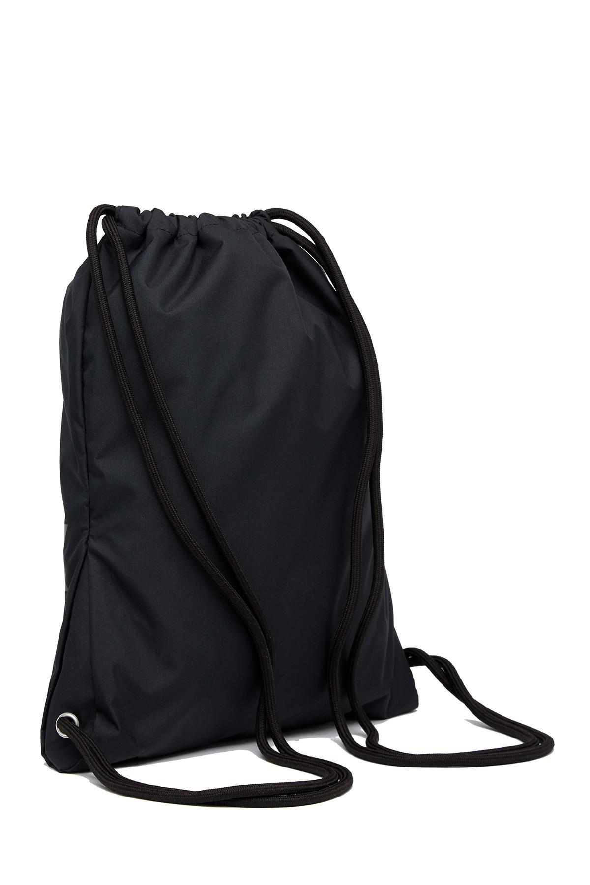 debcc0801bd1 Lyst - Nike Heritage Gymsak 2 Drawstring Backpack in Black