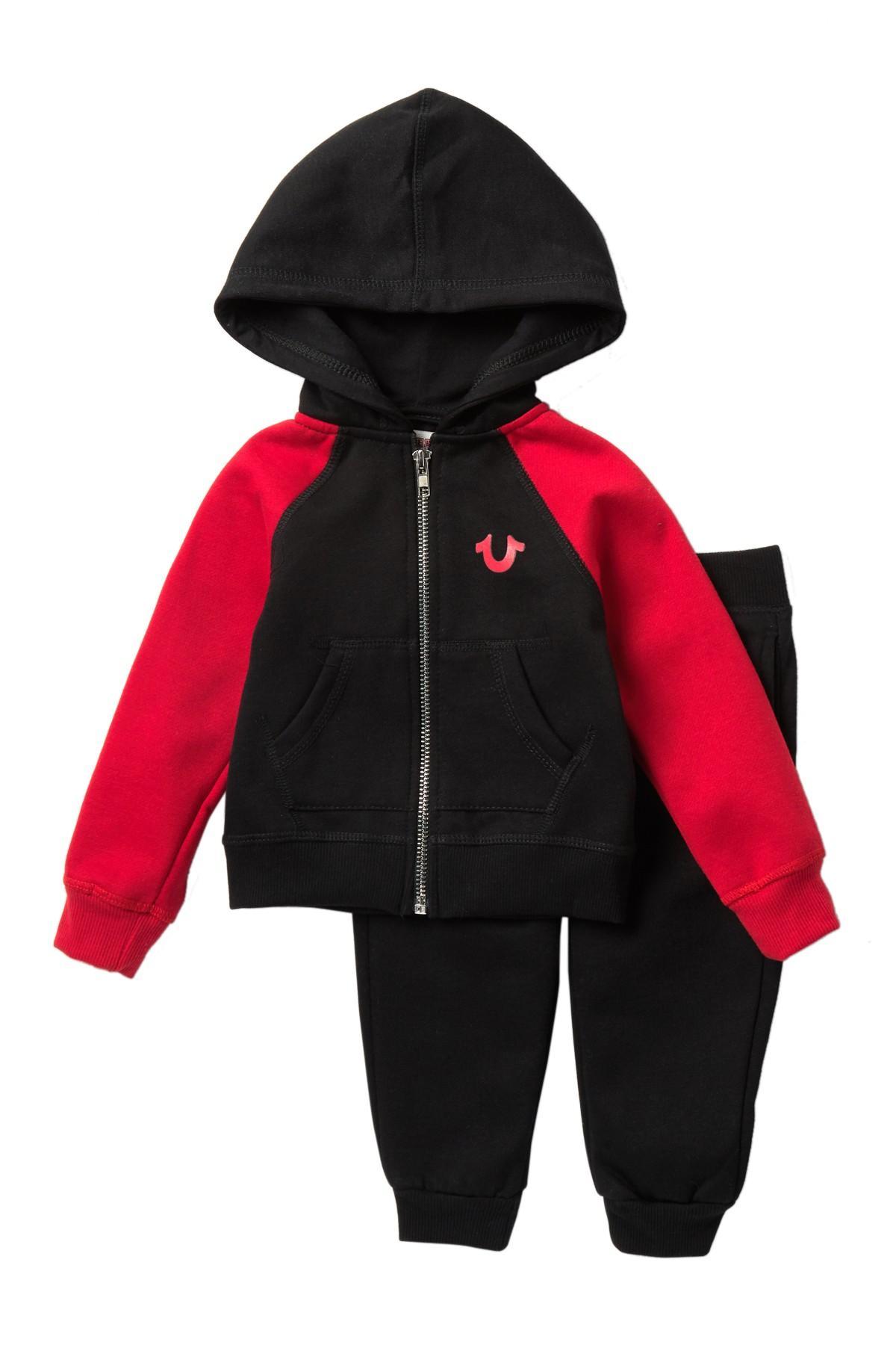 8921ca7a3 True Religion Varsity Hookup 2-piece Set (baby) in Black for Men - Lyst
