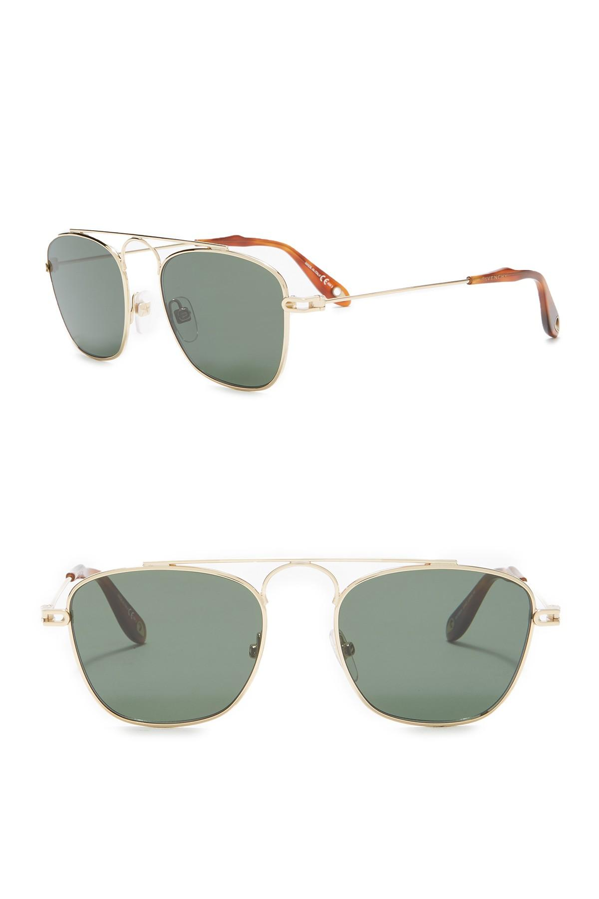 11b73a972 Lyst - Givenchy 51mm Modified Navigator Sunglasses for Men