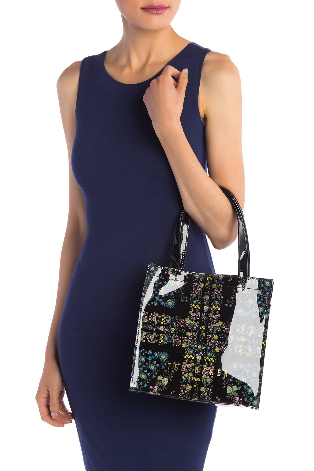 491be7d0d Lyst - Ted Baker Selcon Unity Flag Small Icon Bag in Black