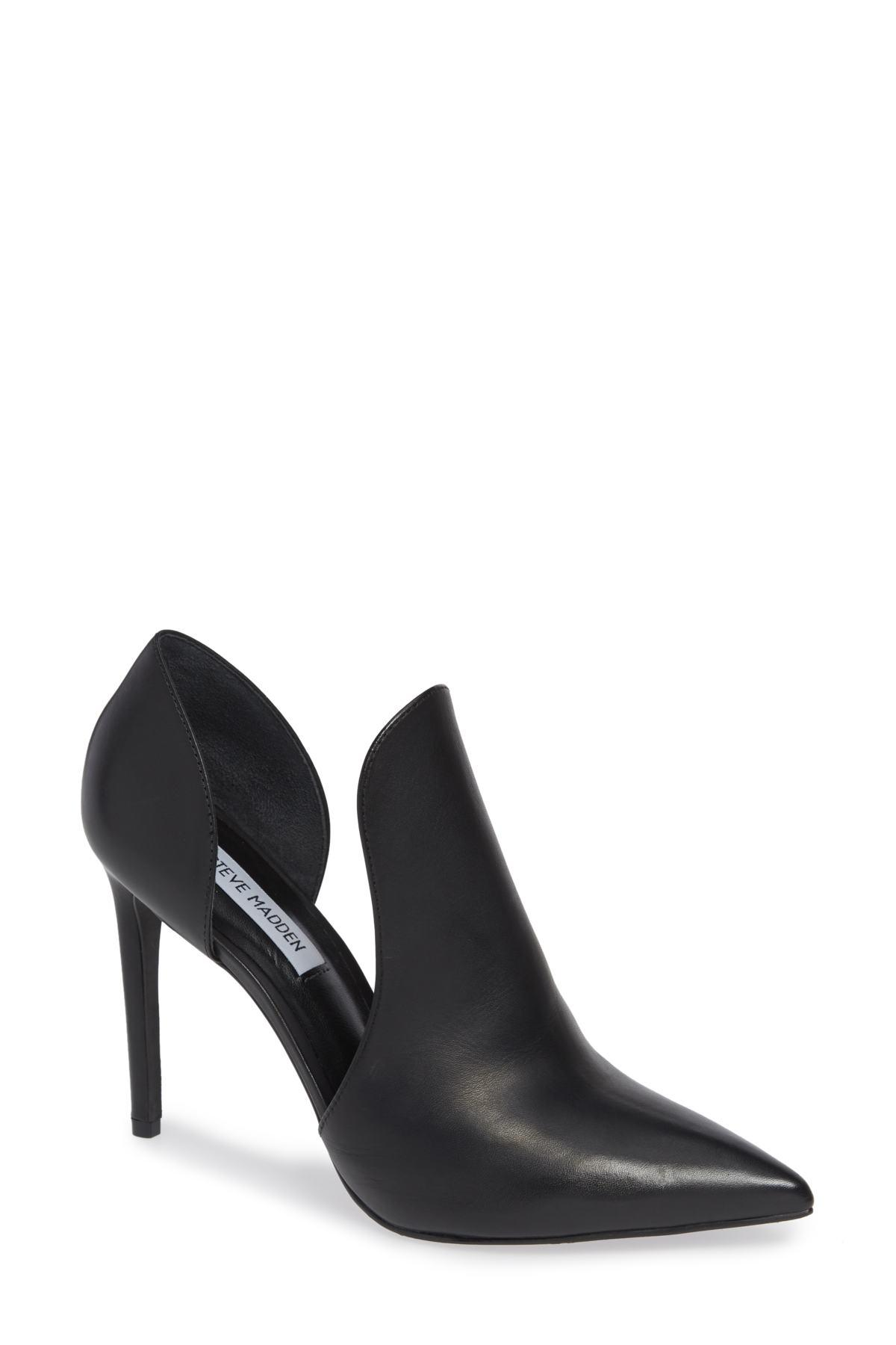 88b061bde9a Lyst - Steve Madden Dolly Pump in Black - Save 90%