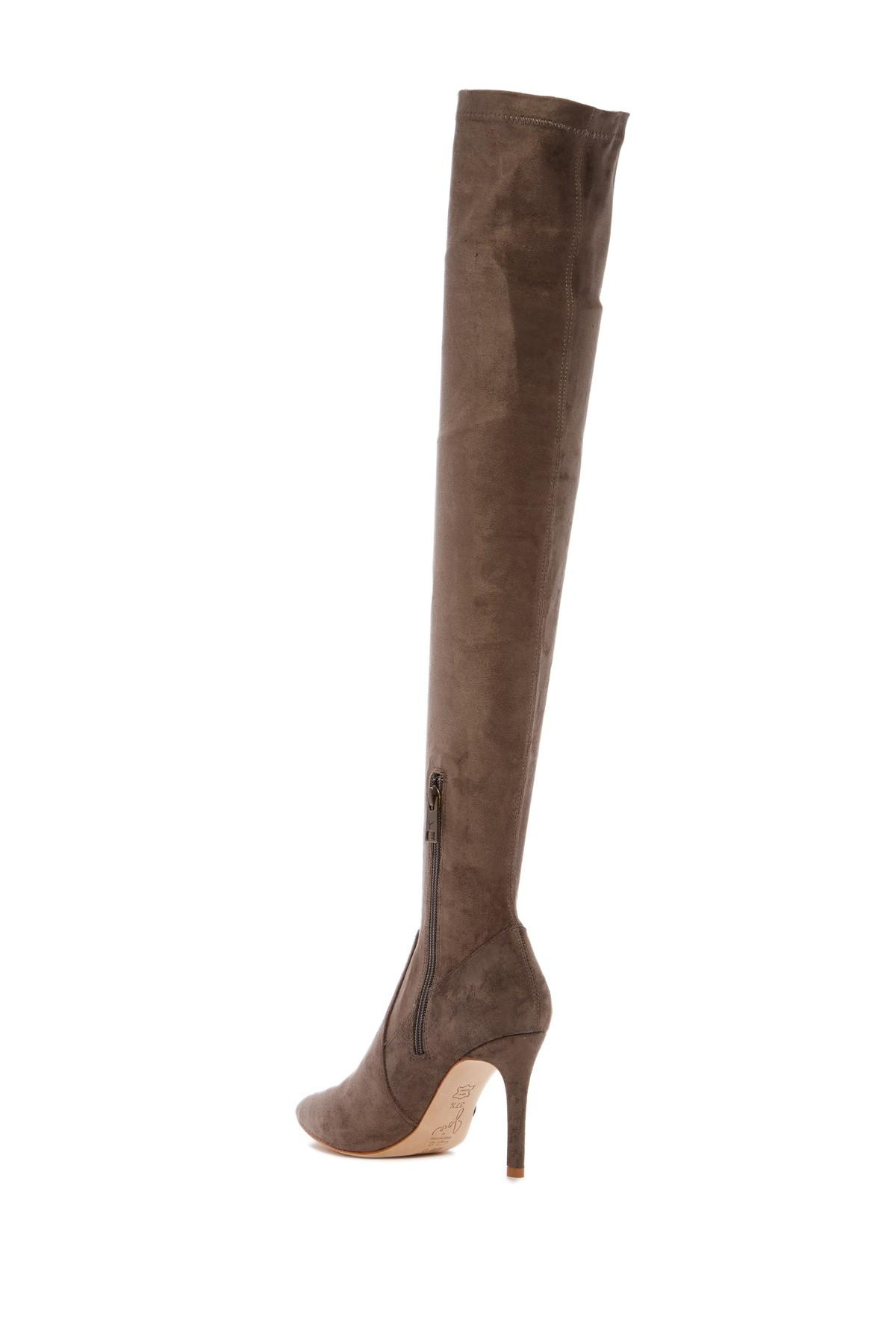 efdbe1322cb Lyst - Joie Jemina Over The Knee Boot - Narrow Calf in Brown