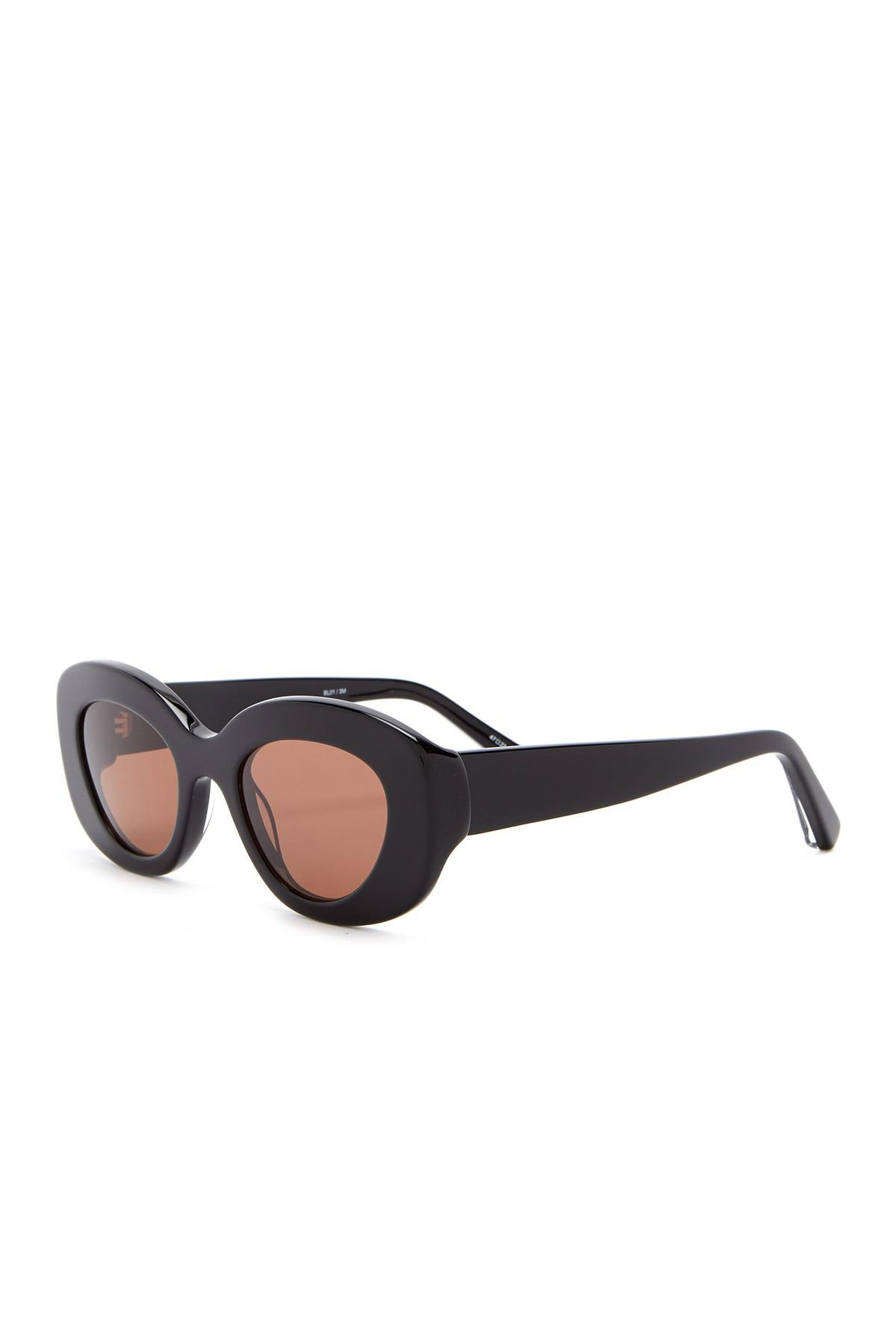 c5d2b24f6d Elizabeth and James - Multicolor Fray 47mm Oversized Oval Sunglasses -  Lyst. View fullscreen