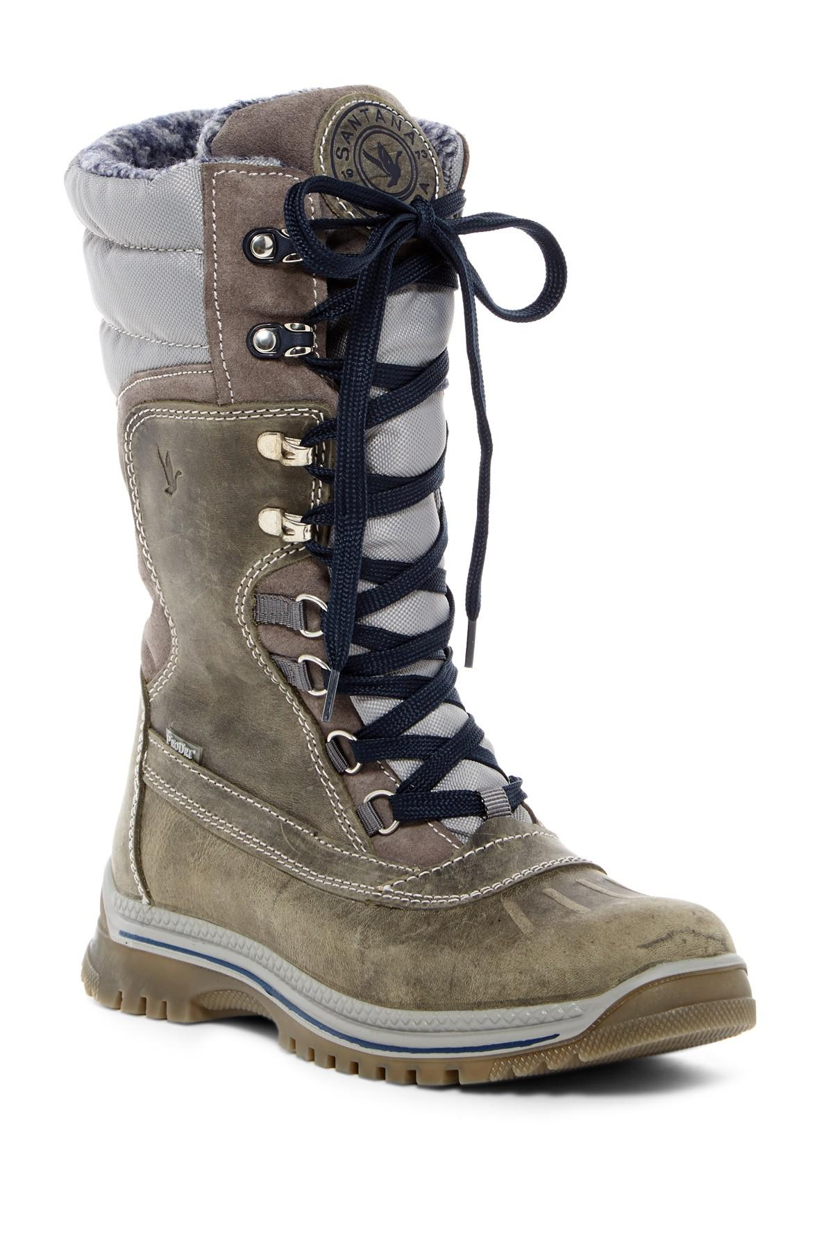 a1d2eb3811a Lyst - Santana Canada Modena Wool Lined Waterproof Boot in Gray