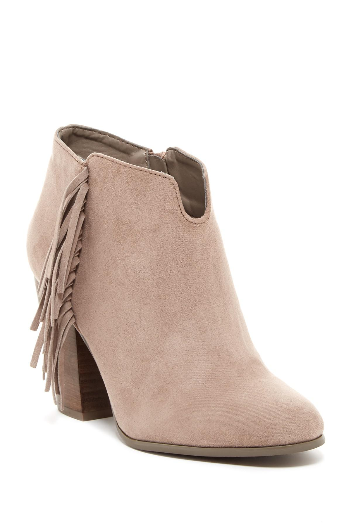3d8fd238bcb Lyst - Carlos By Carlos Santana Tempe Ankle Bootie in Natural